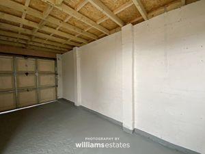 inside the garage