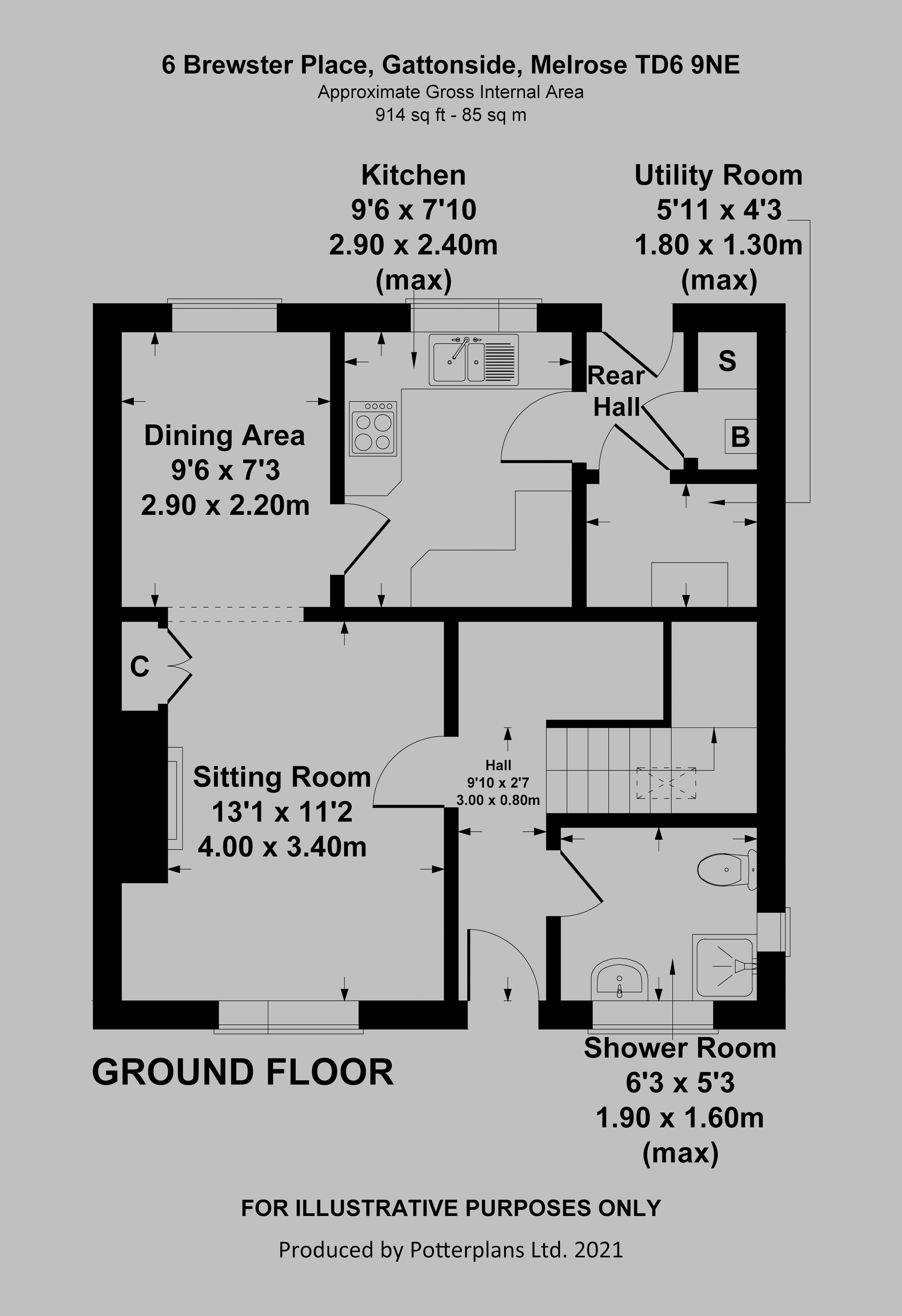6 Brewster Place Ground Floor
