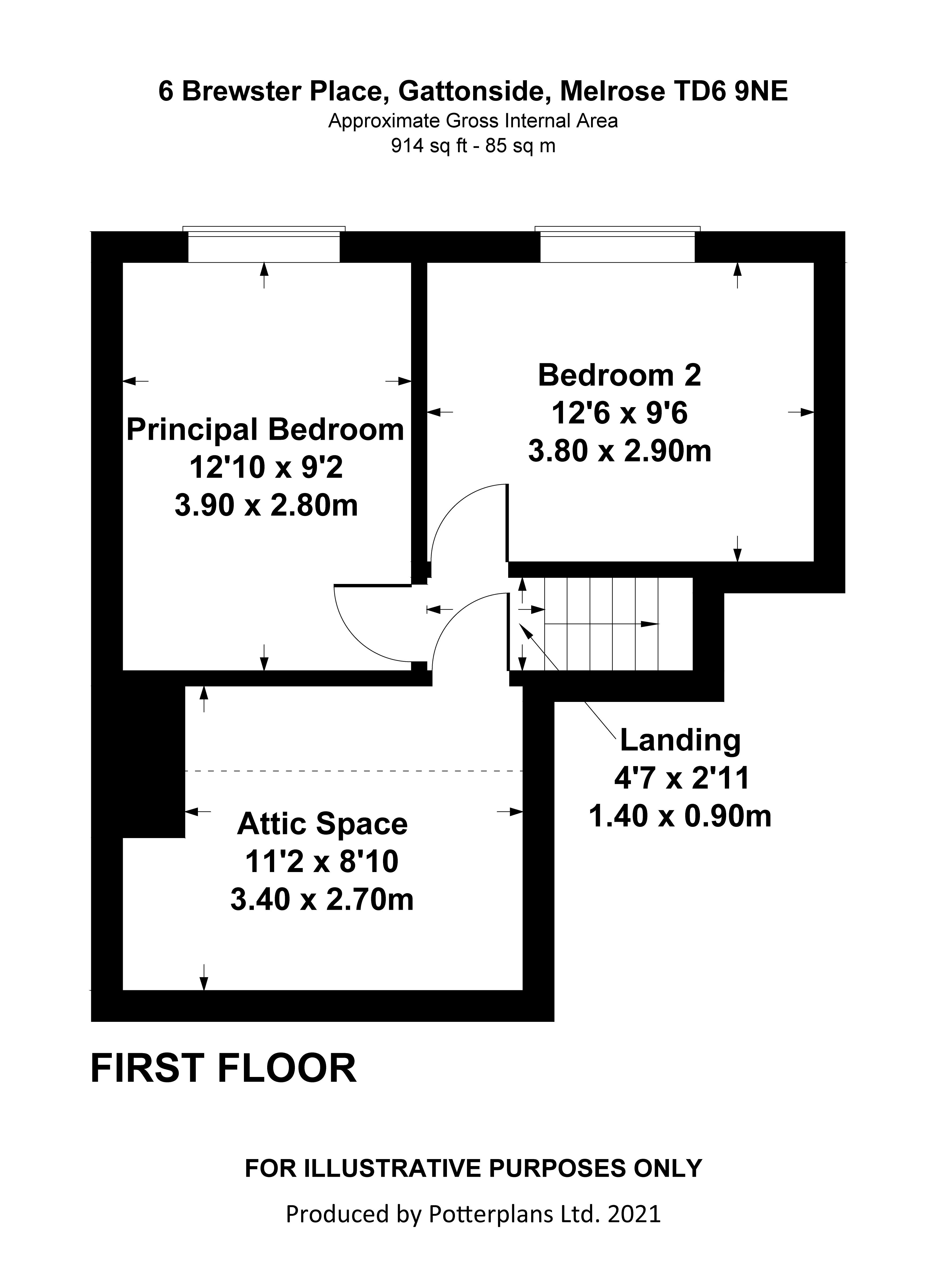6 Brewster Place First Floor