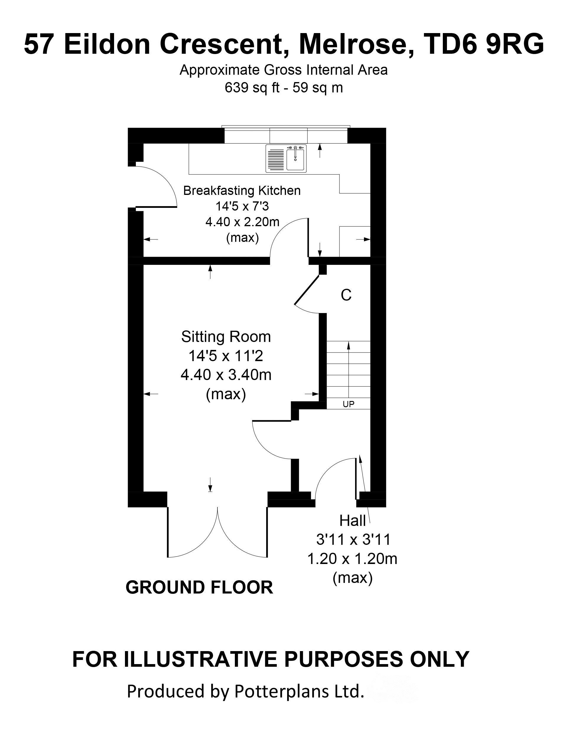 57 Eildon Crescent Ground Floor