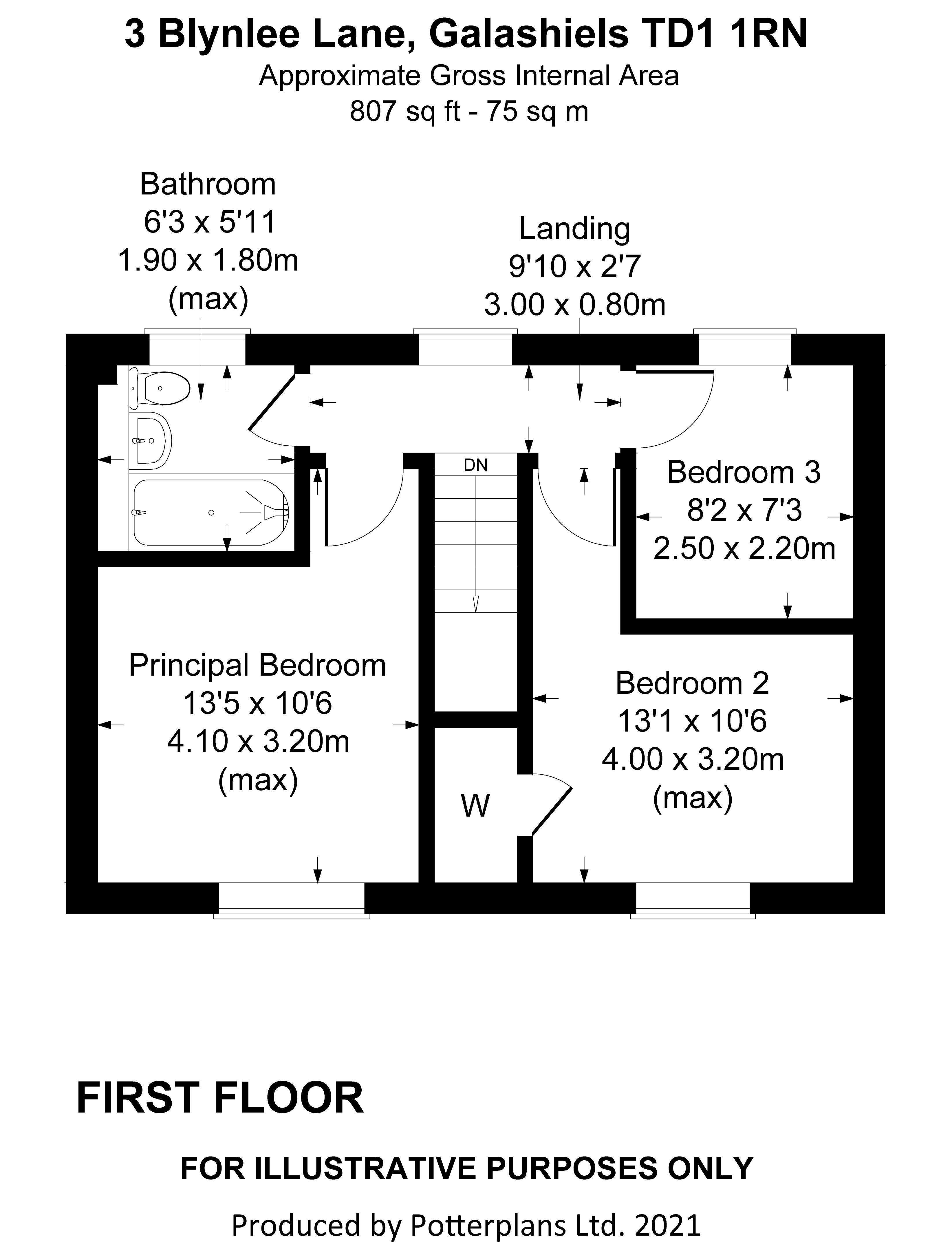 3 Blynlee Lane First Floor