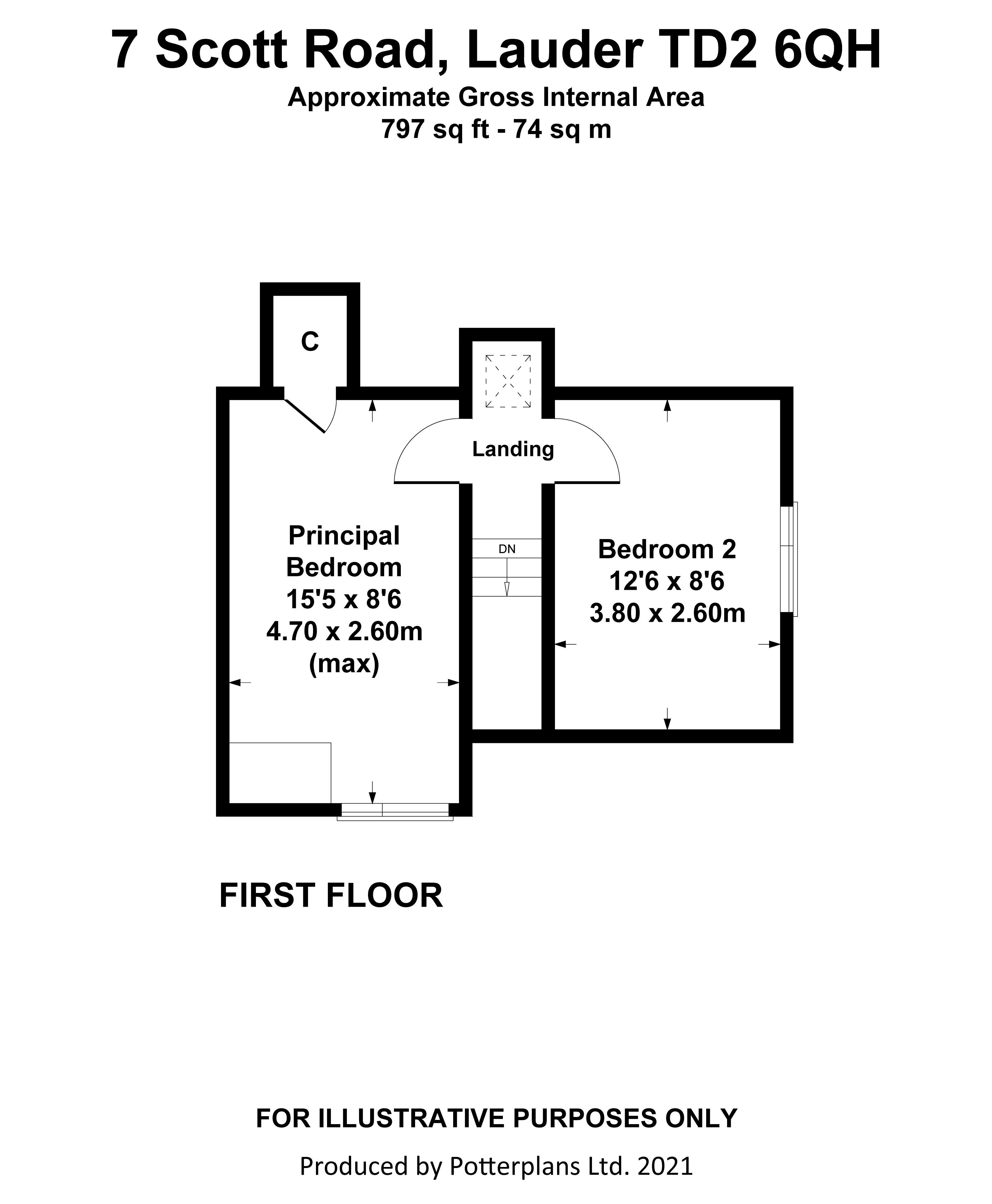 7 Scott Road First Floor