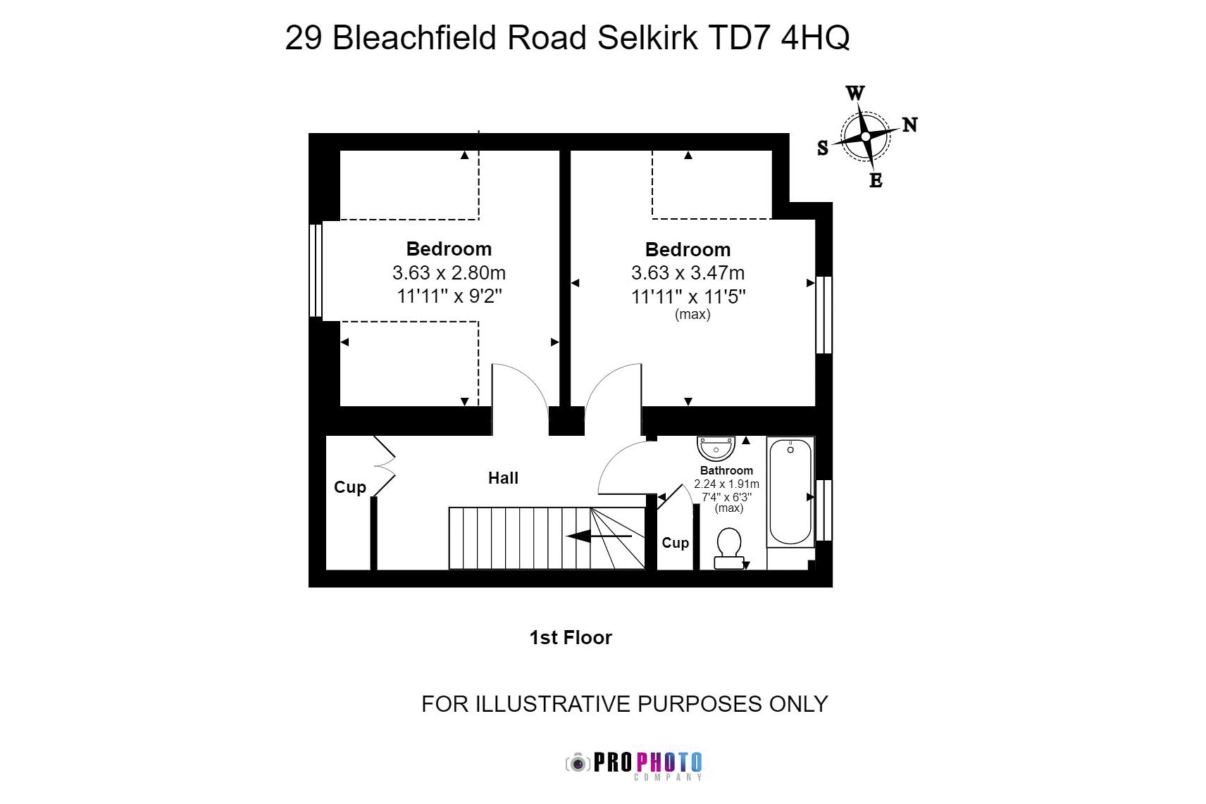 29 Bleachfield Road First Floor