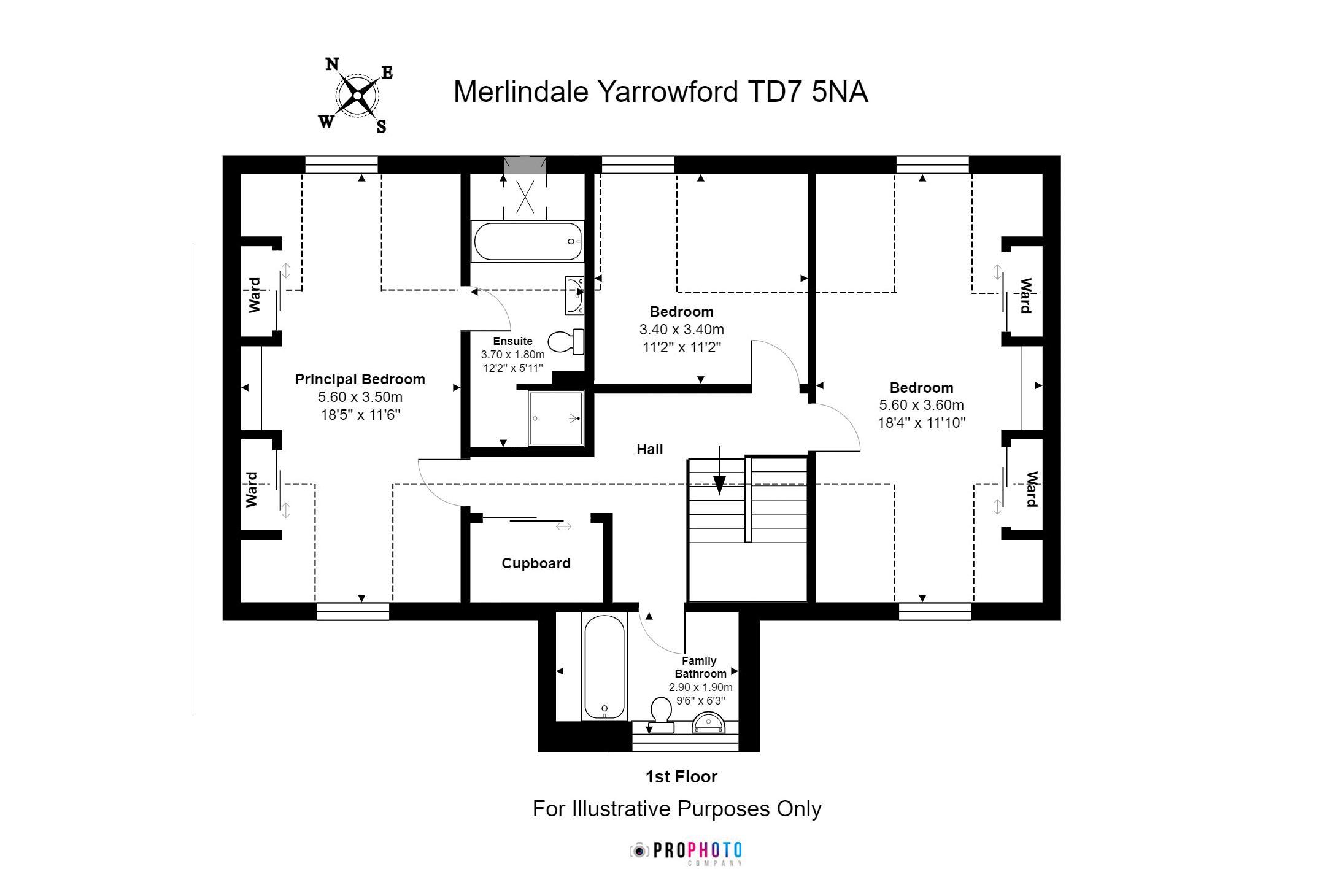 Merlindale First Floor