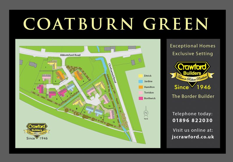 Coatburn Green site plan
