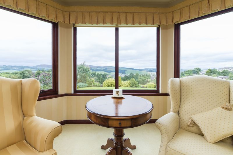 Sitting room - bay window view
