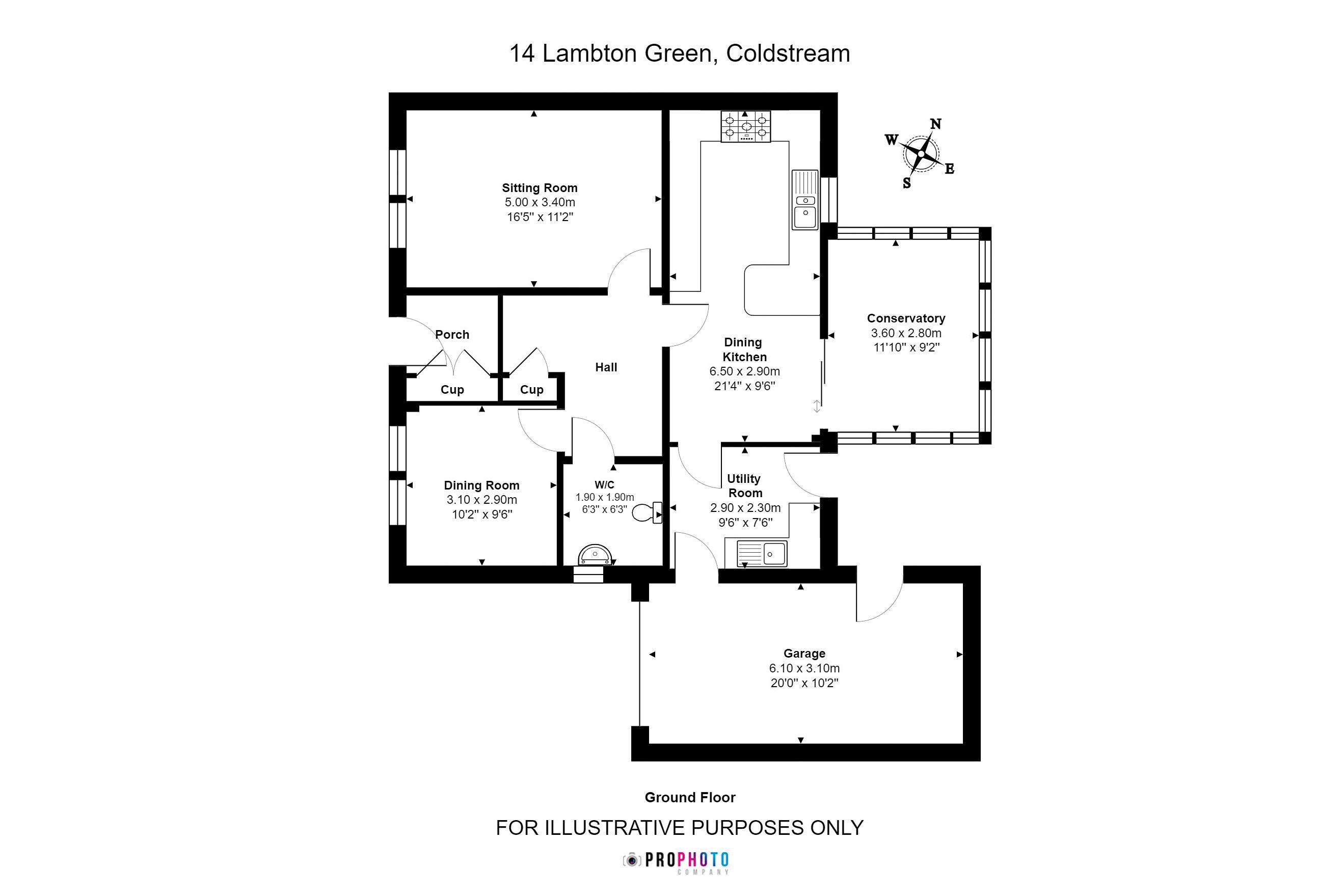 14 Lambton Green Ground Floor