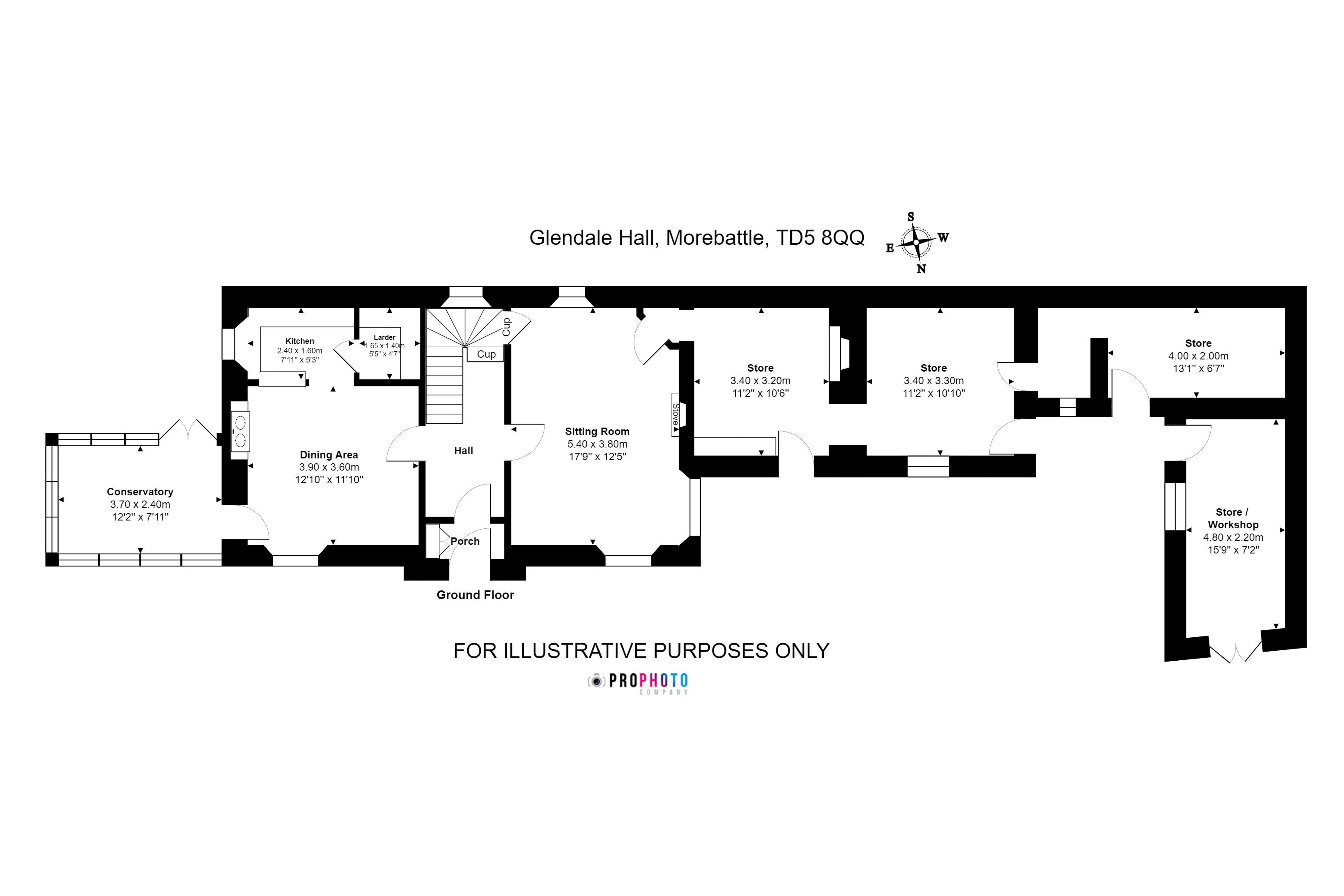 Glendale Hall Ground Floor