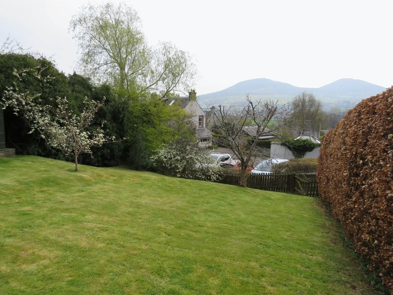 1 Valley View, Gattonside, view of the Eildons