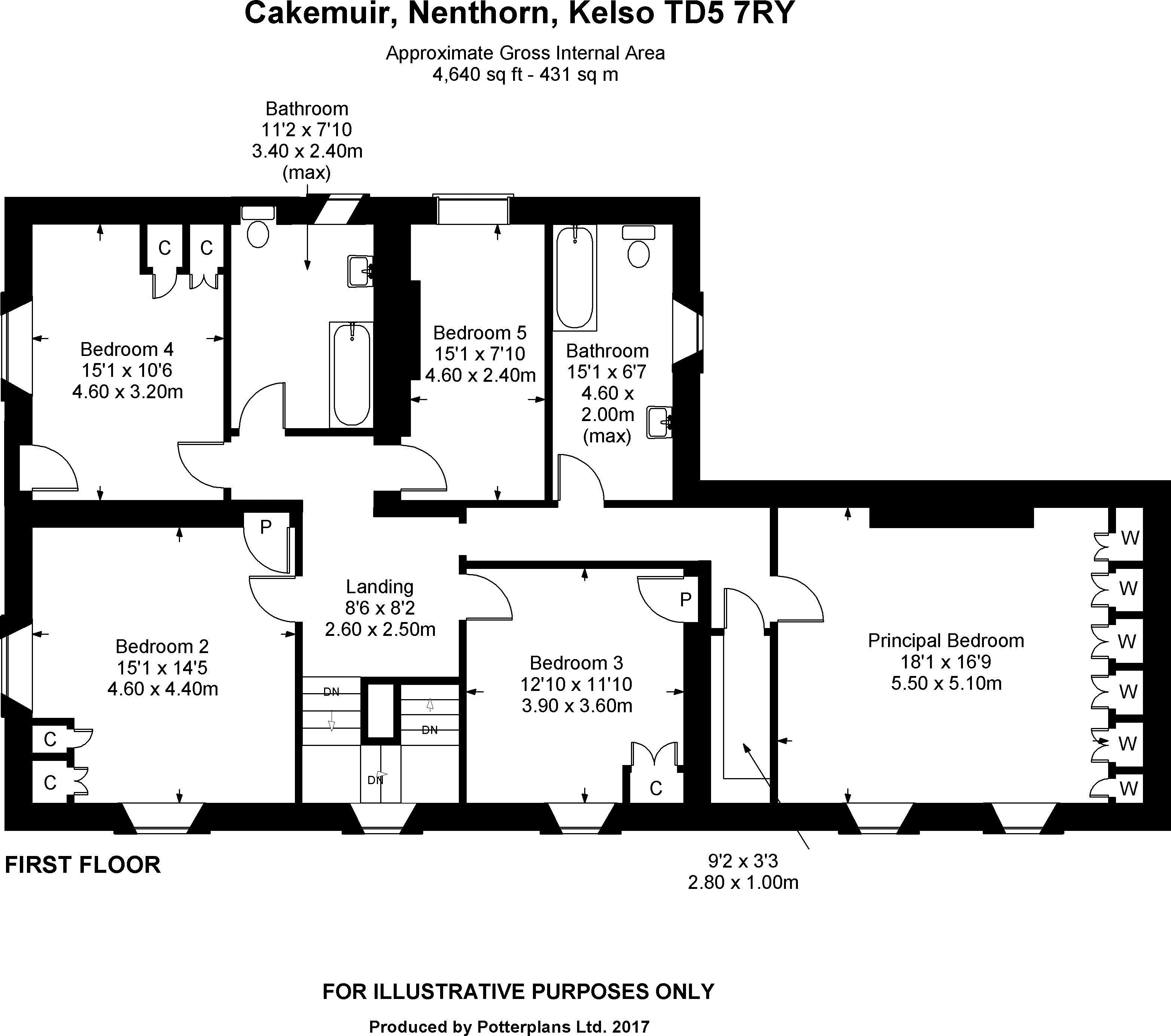 Cakemuir First Floor