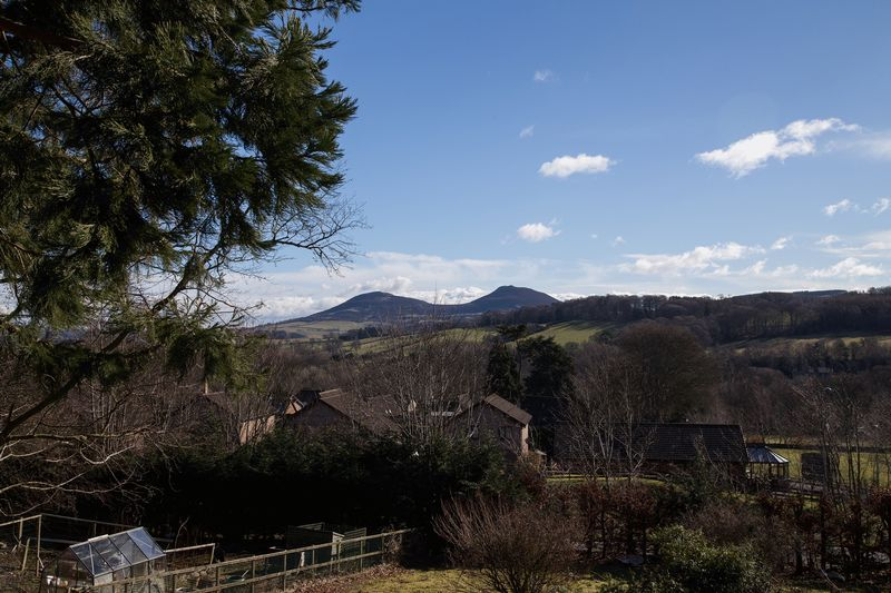 View to the Eildons