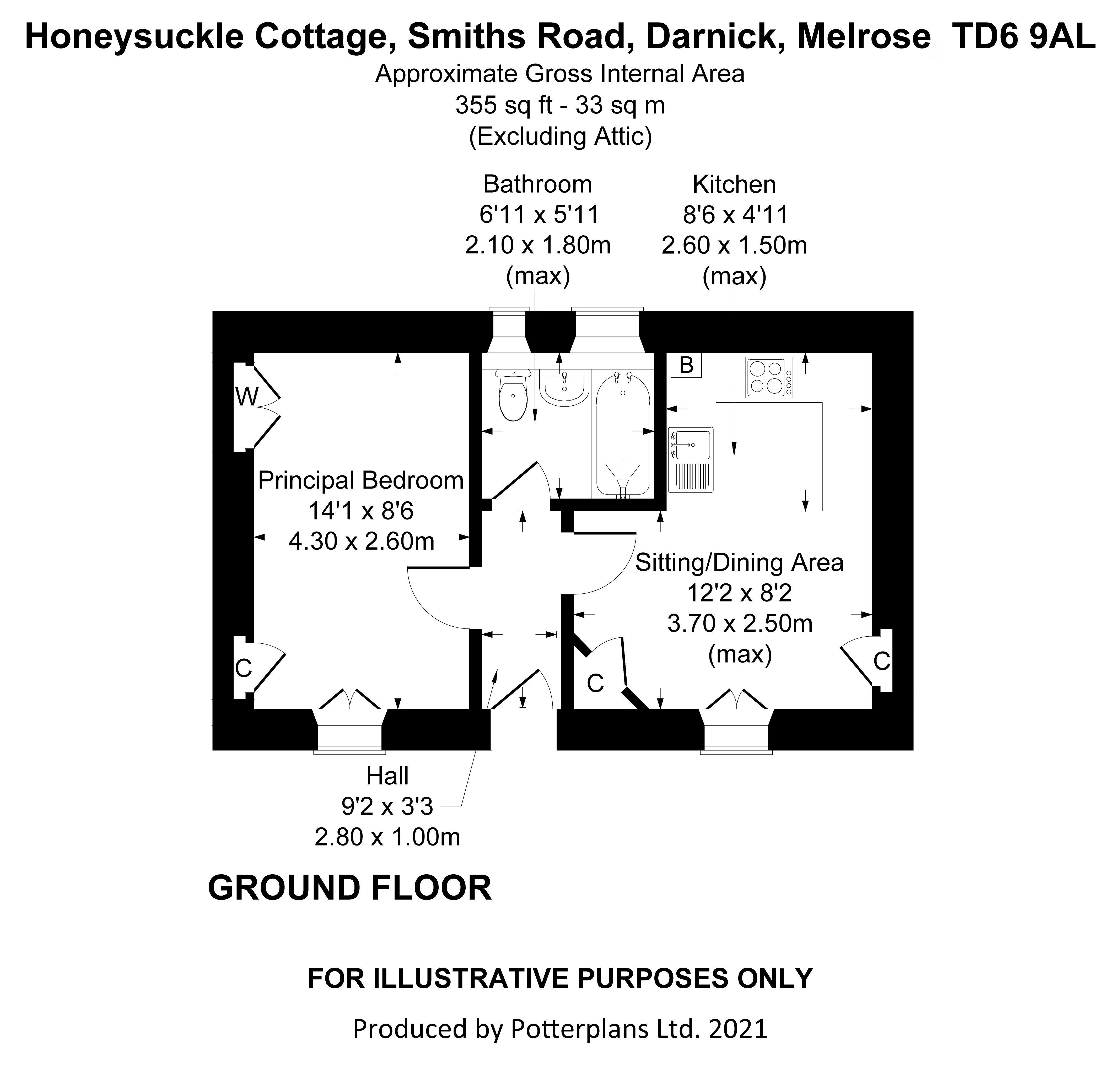 Honeysuckle Cottage Ground Floor