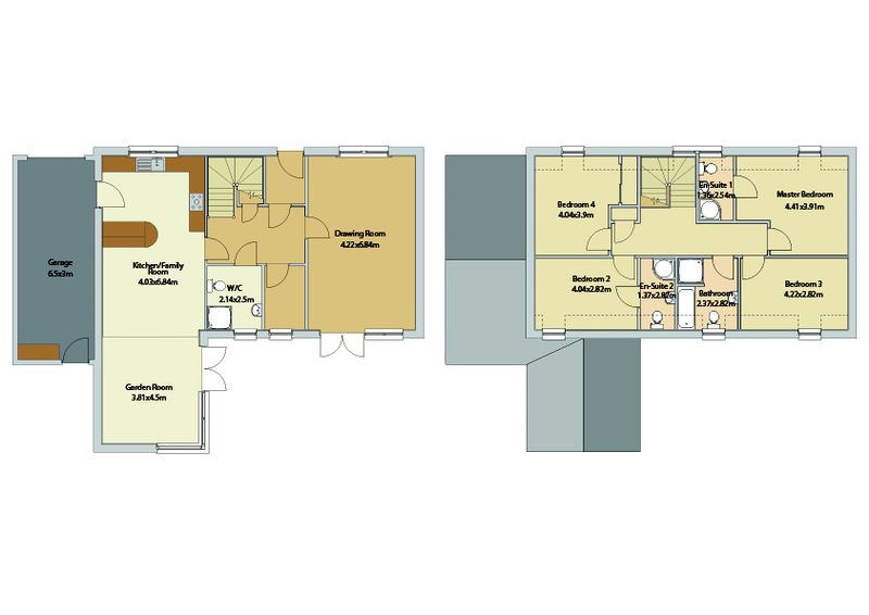 Borthwick floor plans