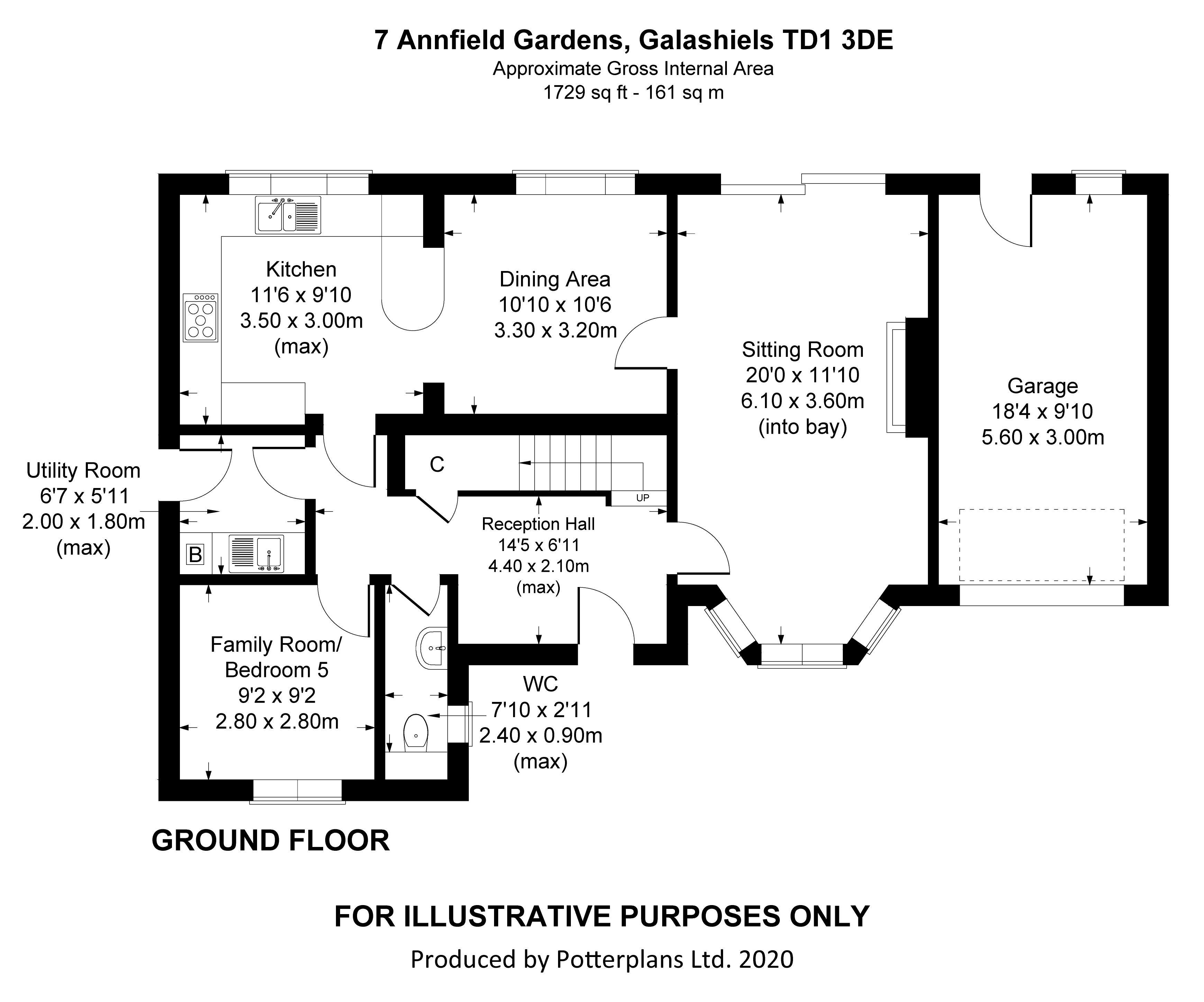 7 Annfield Gardens Ground Floor