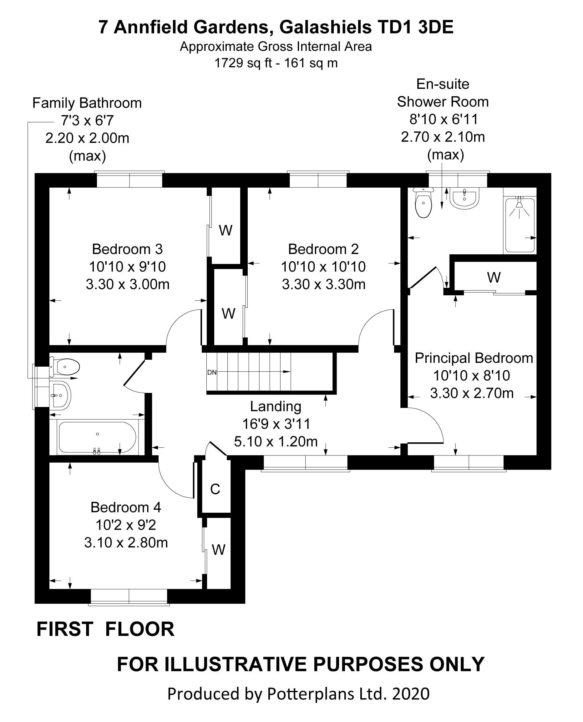 7 Annfield Gardens First Floor