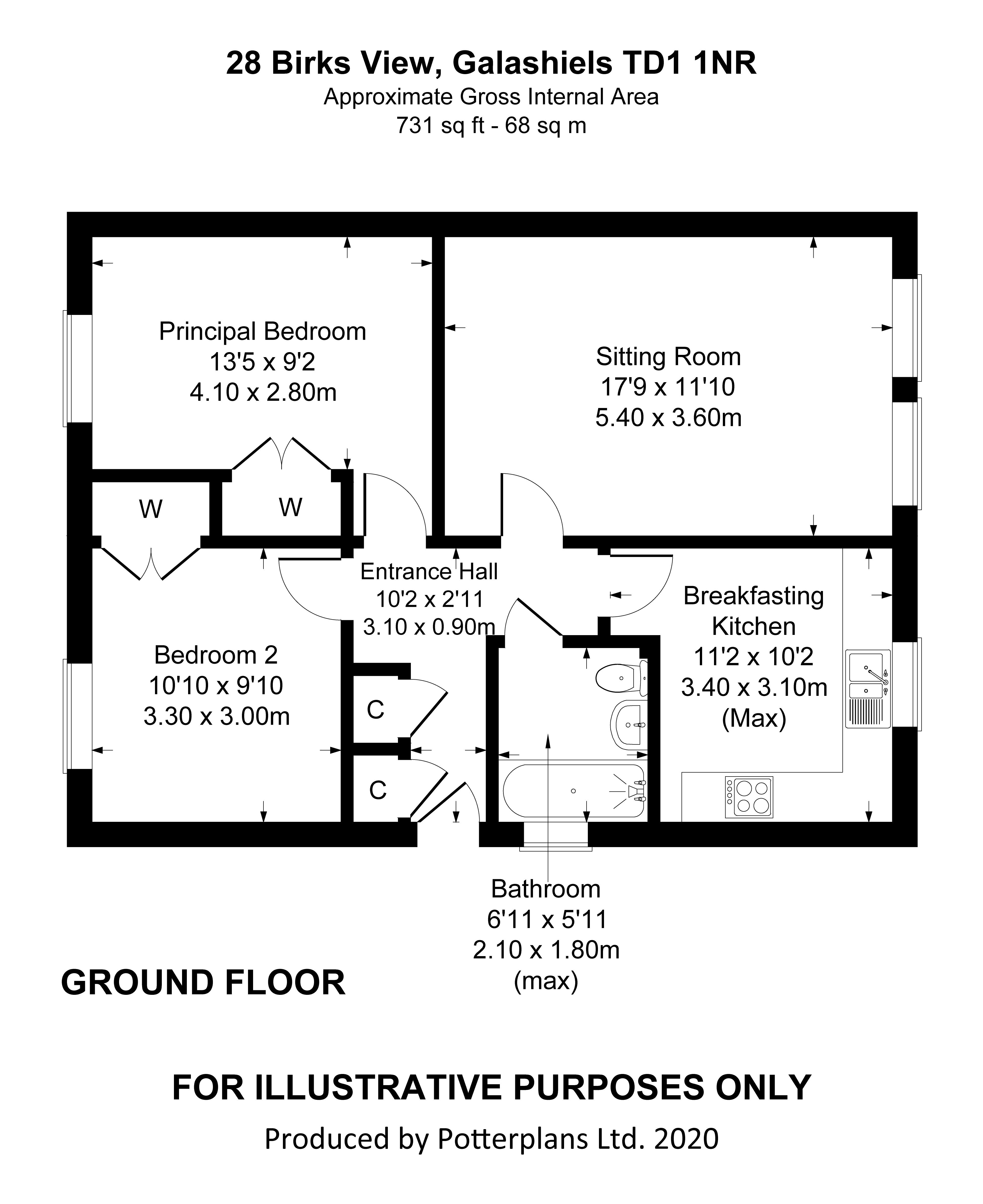 28 Birks View Floorplan