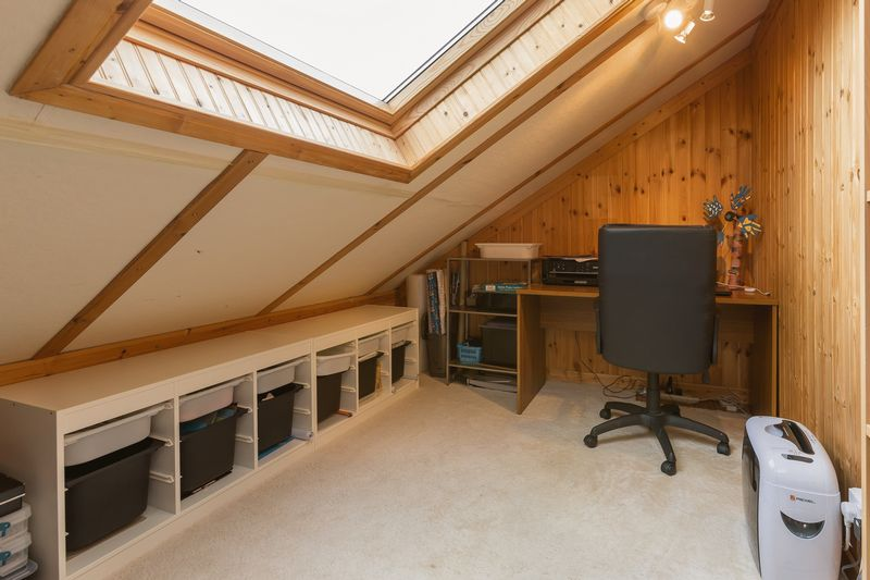 Attic office area