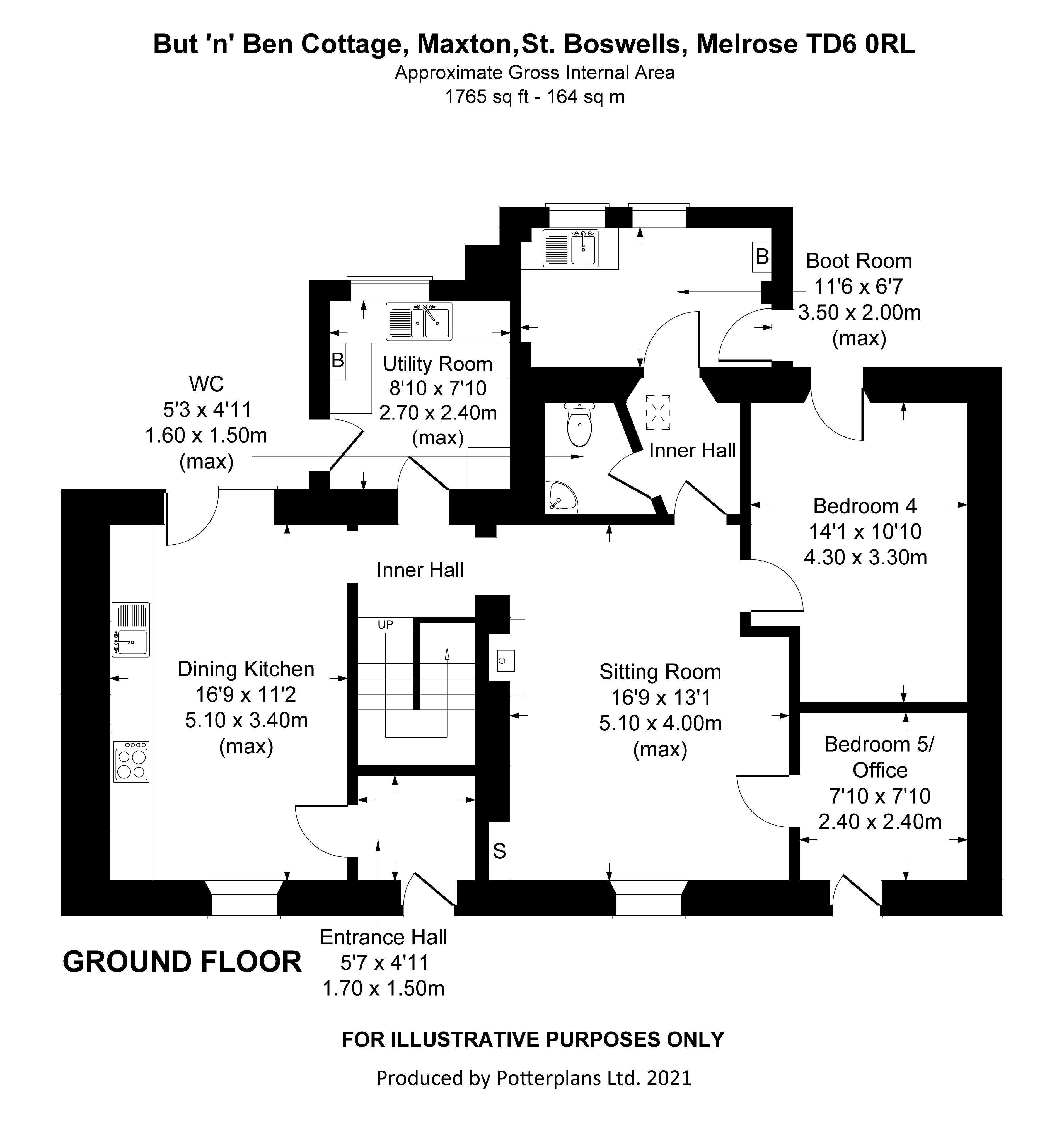 But 'n' Ben Cottage Ground Floor