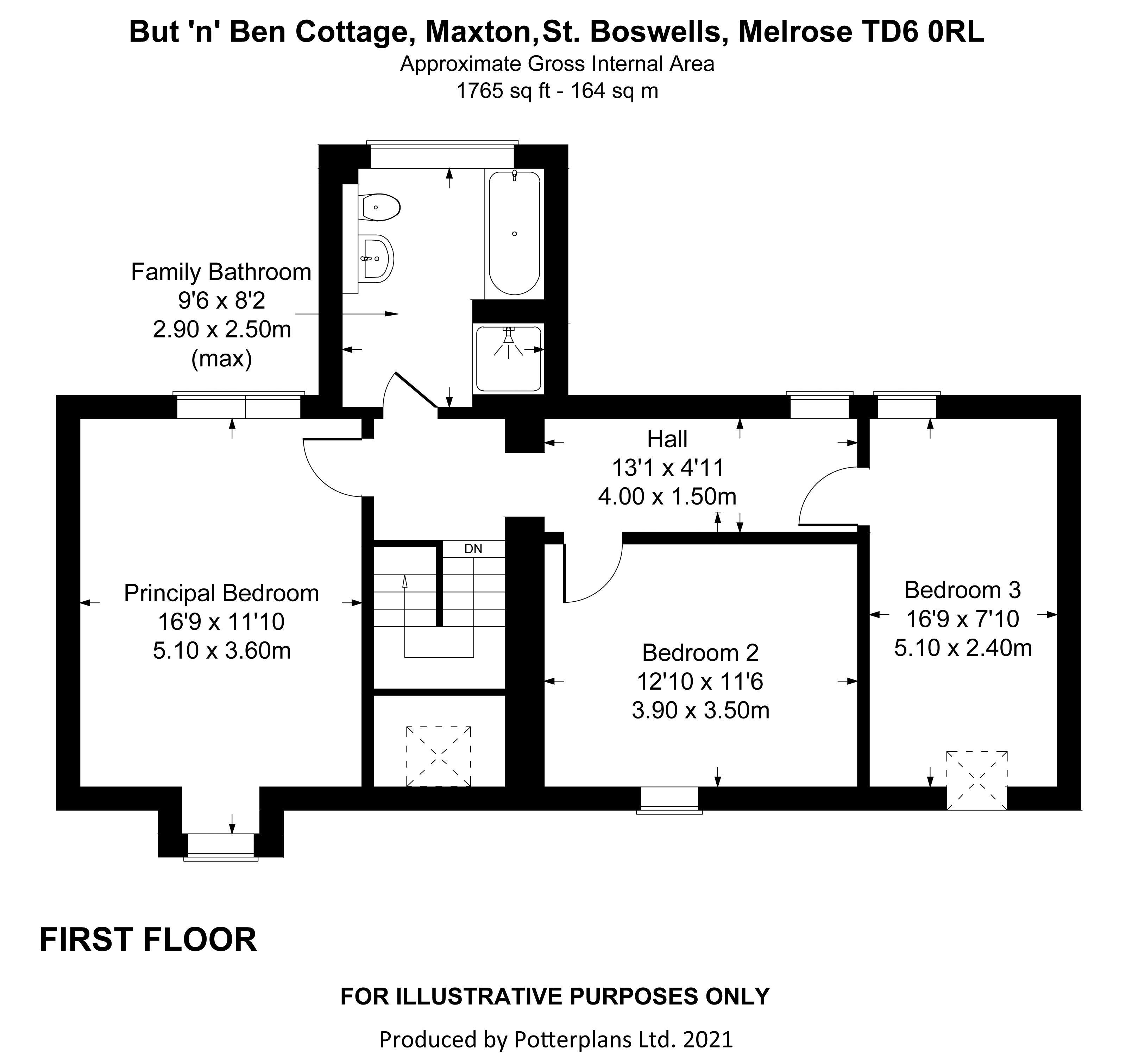But 'n' Ben Cottage First Floor