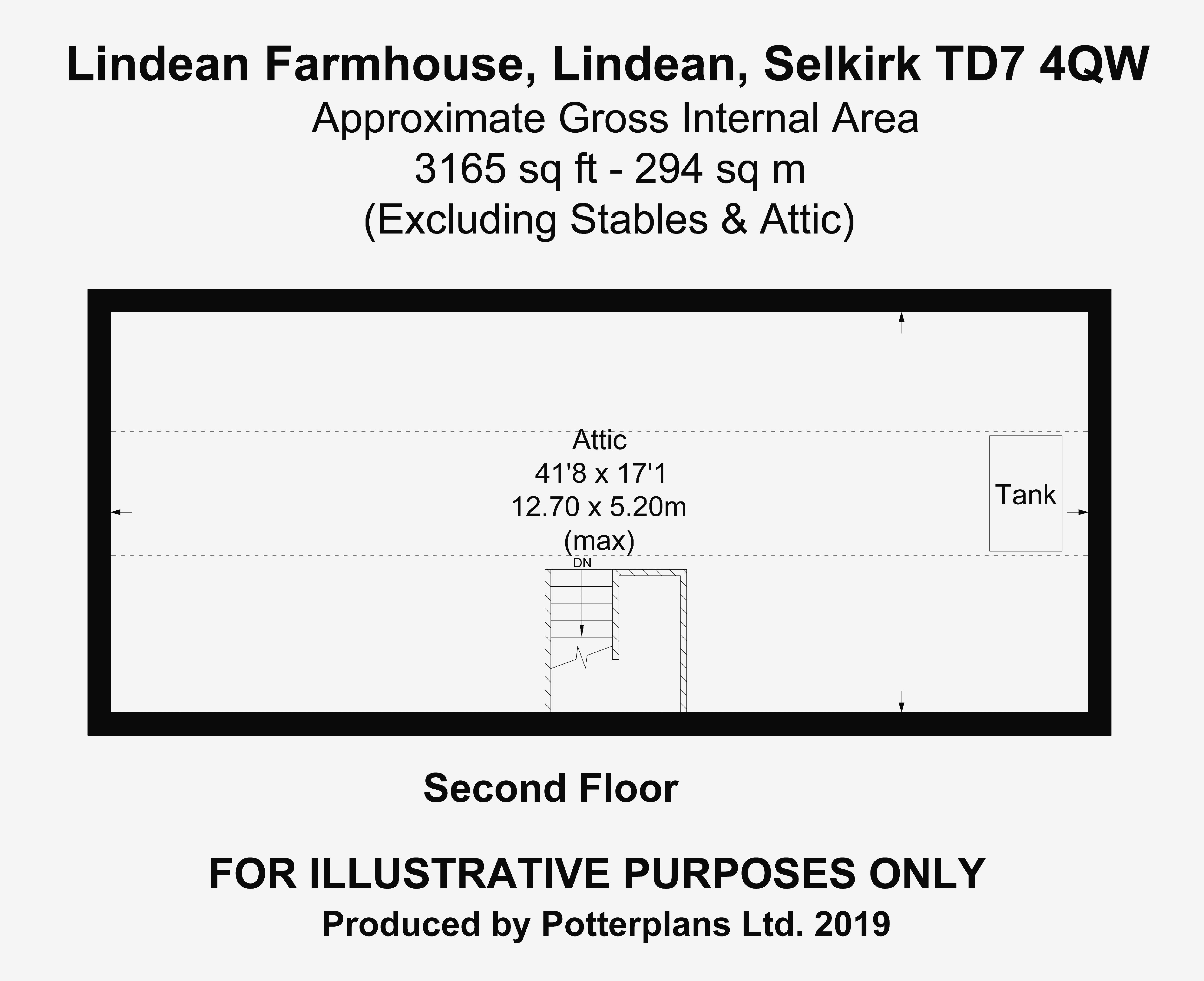 Lindean Farmhouse Attic