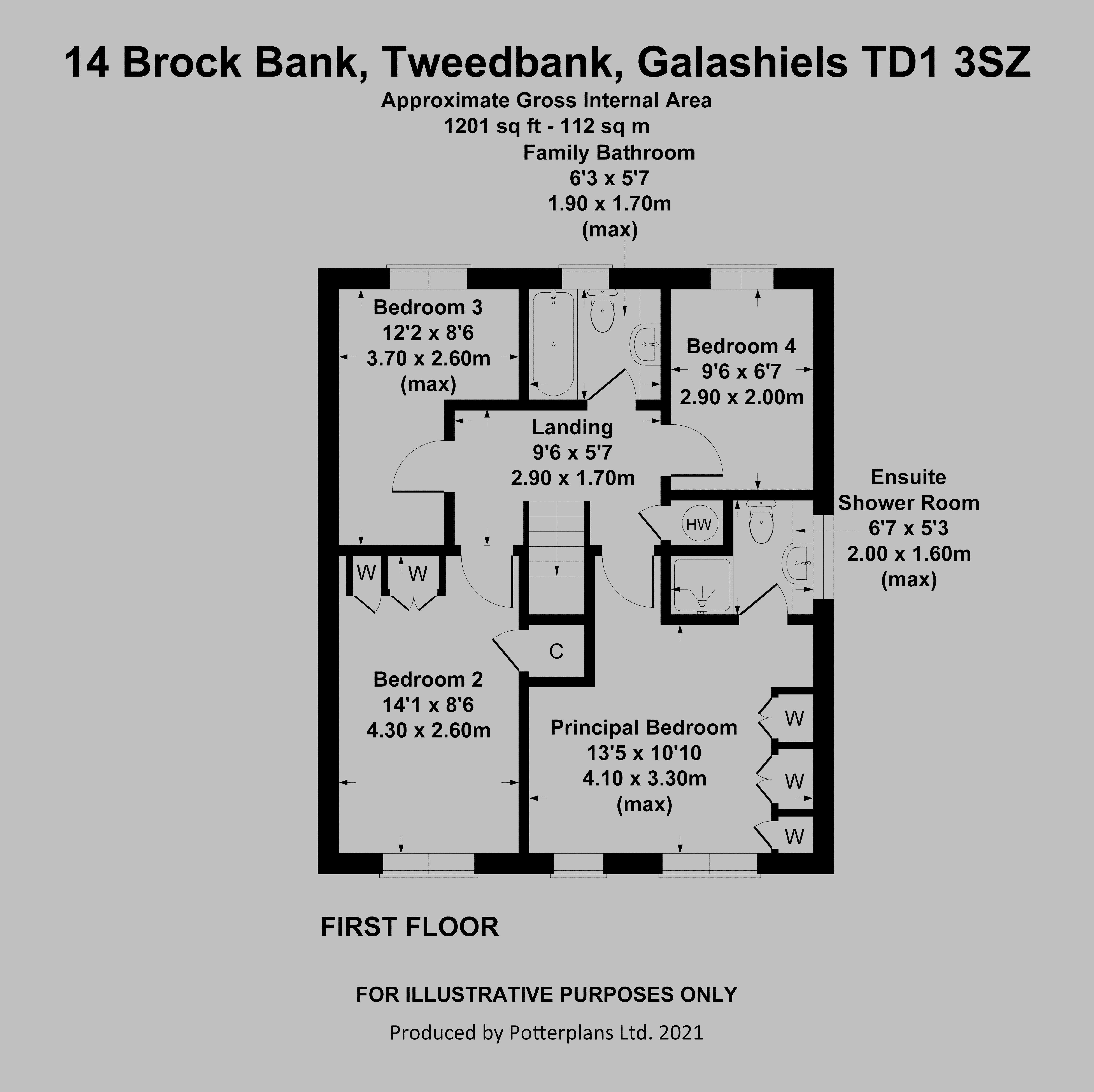 14 Brock Bank First Floor