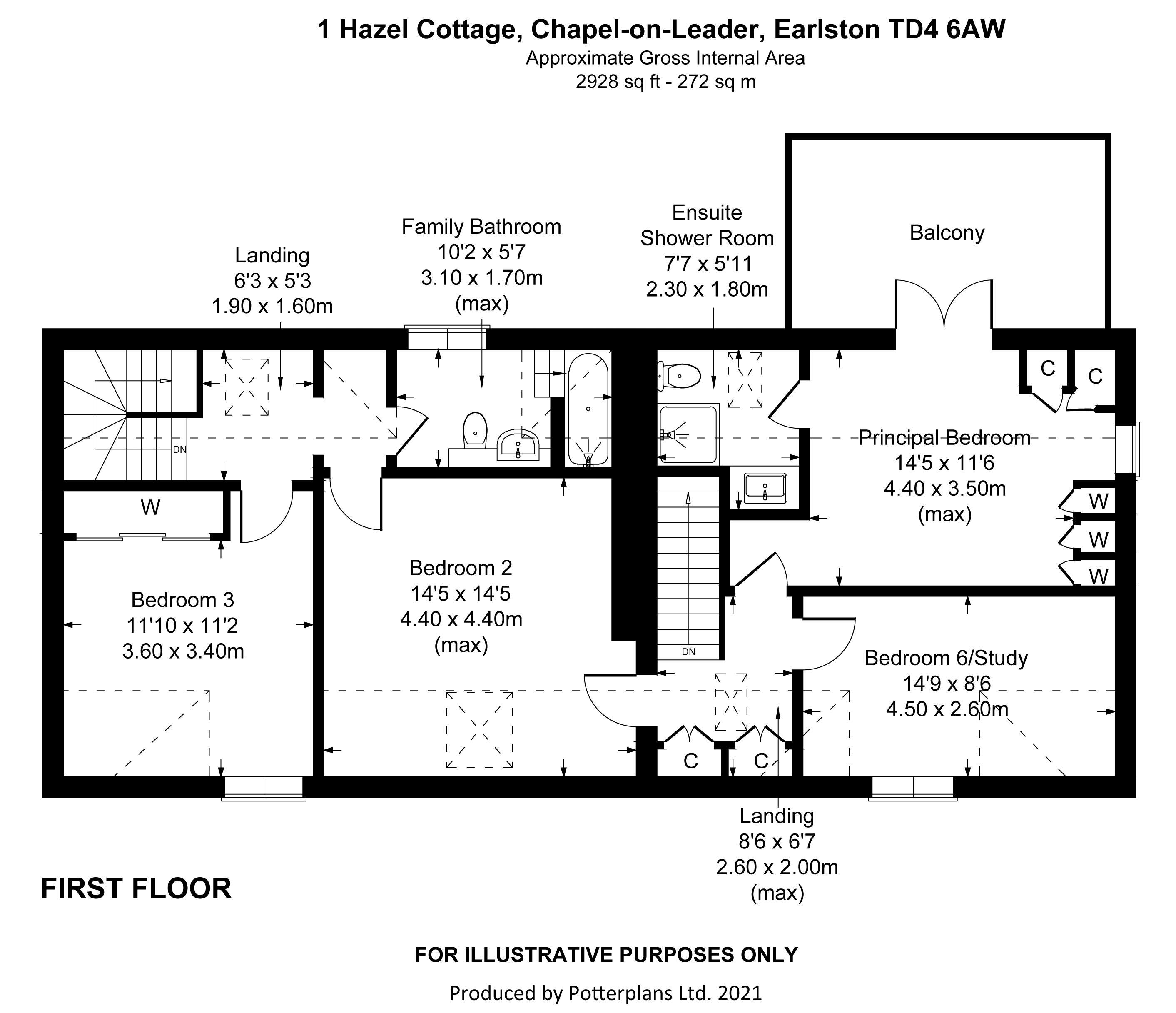 1 Hazel Cottage First Floor