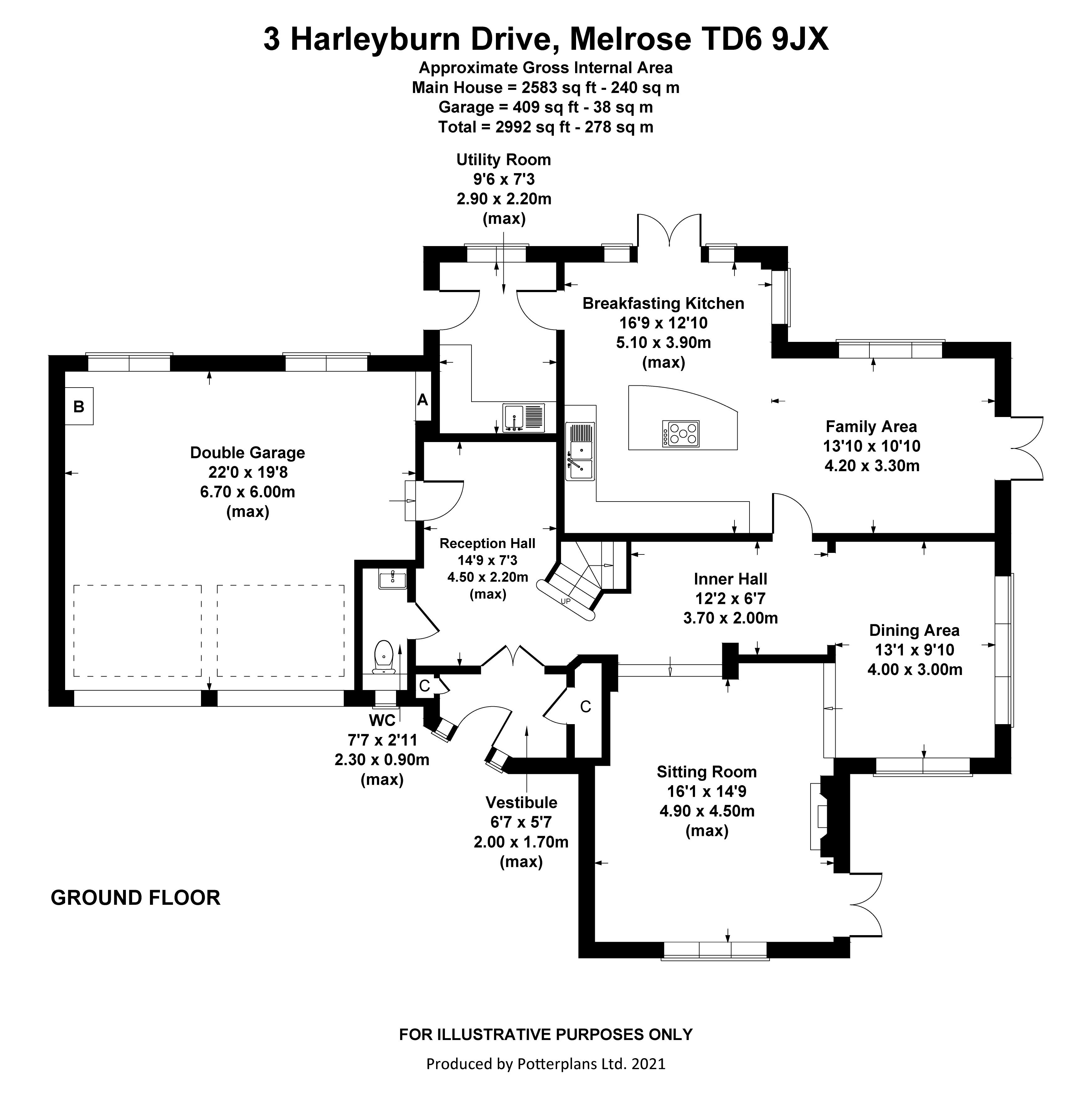 3 Harleyburn Drive Ground Floor