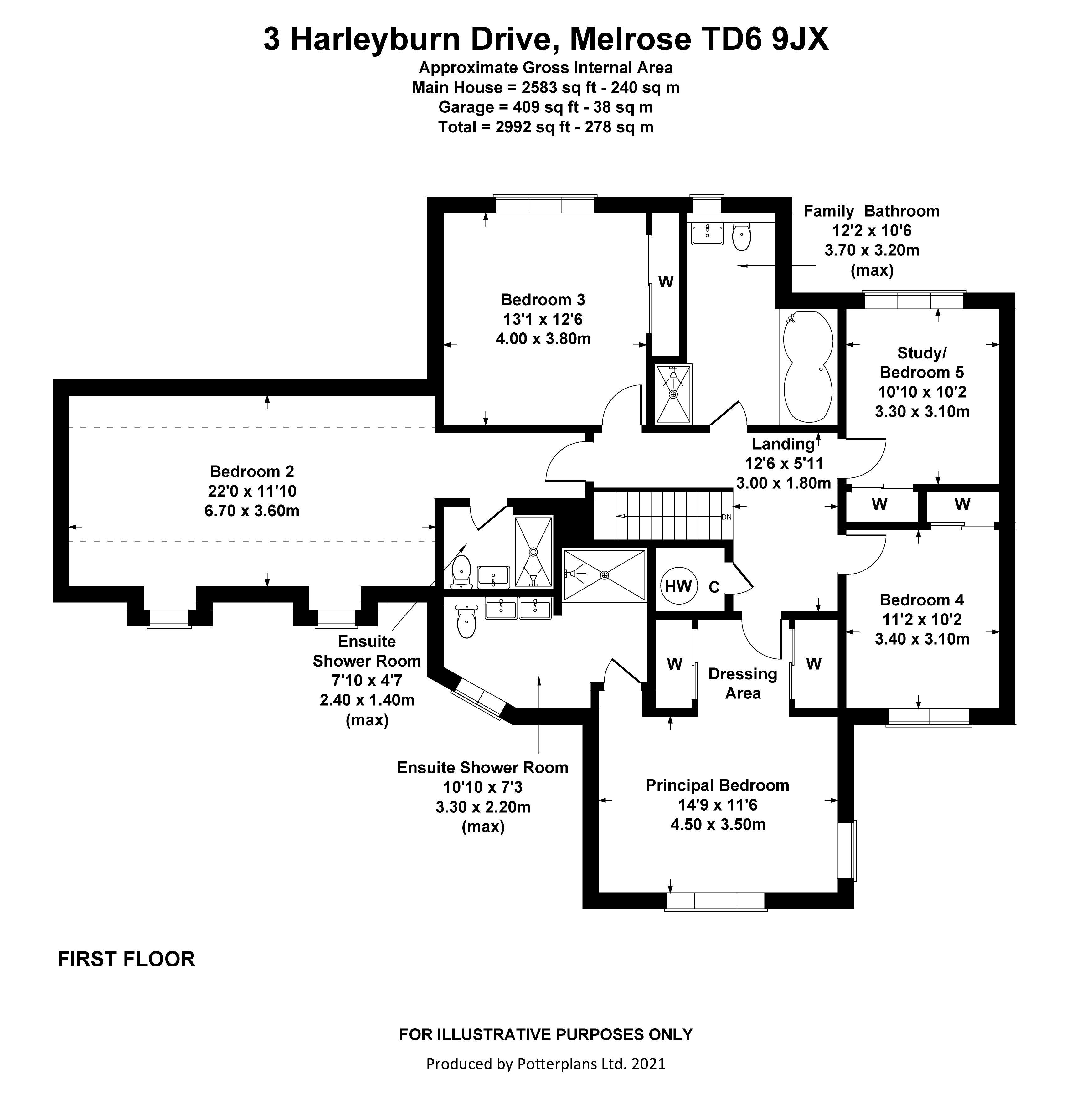 3 Harleyburn Drive First Floor
