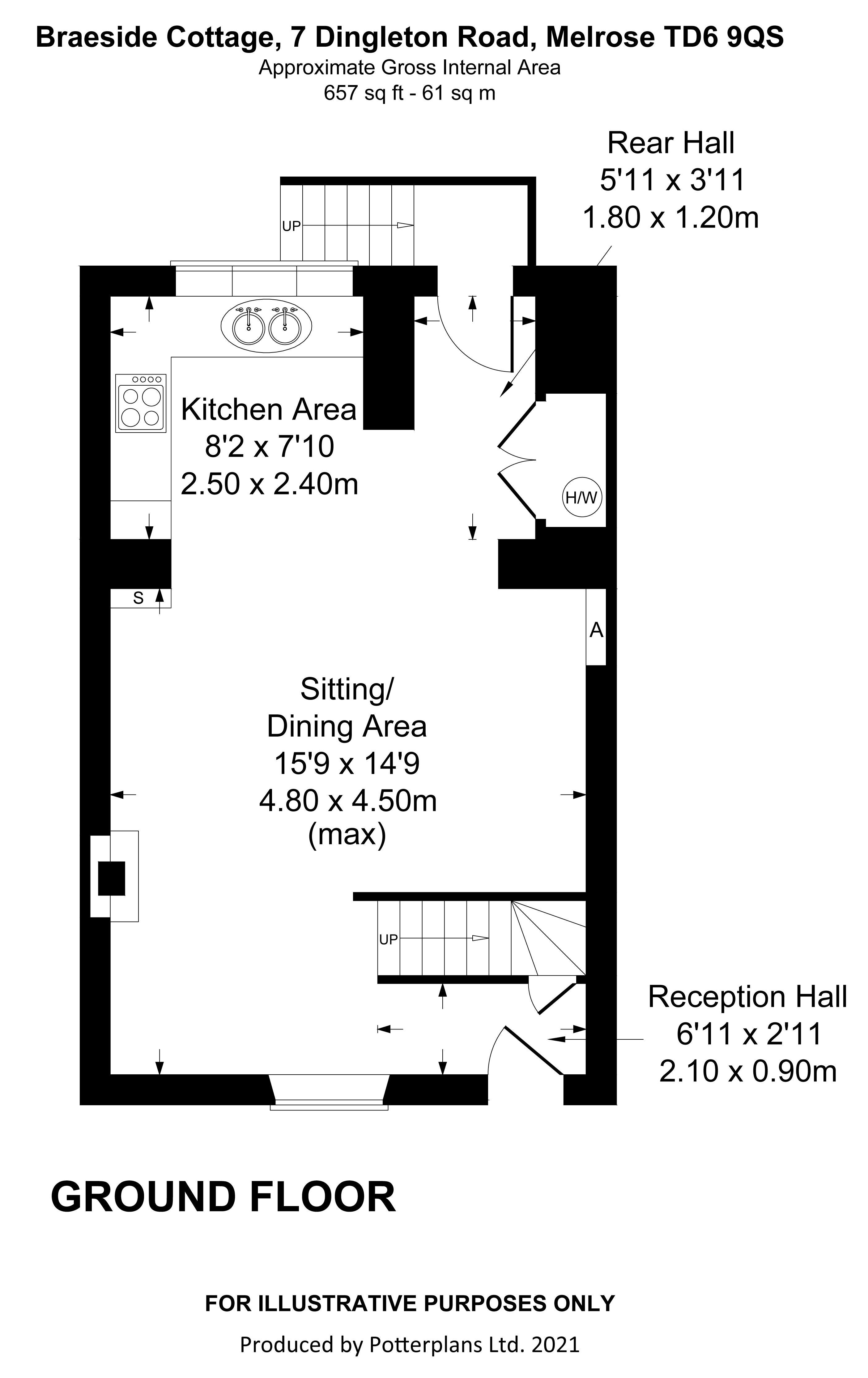 Braeside Cottage Ground Floor