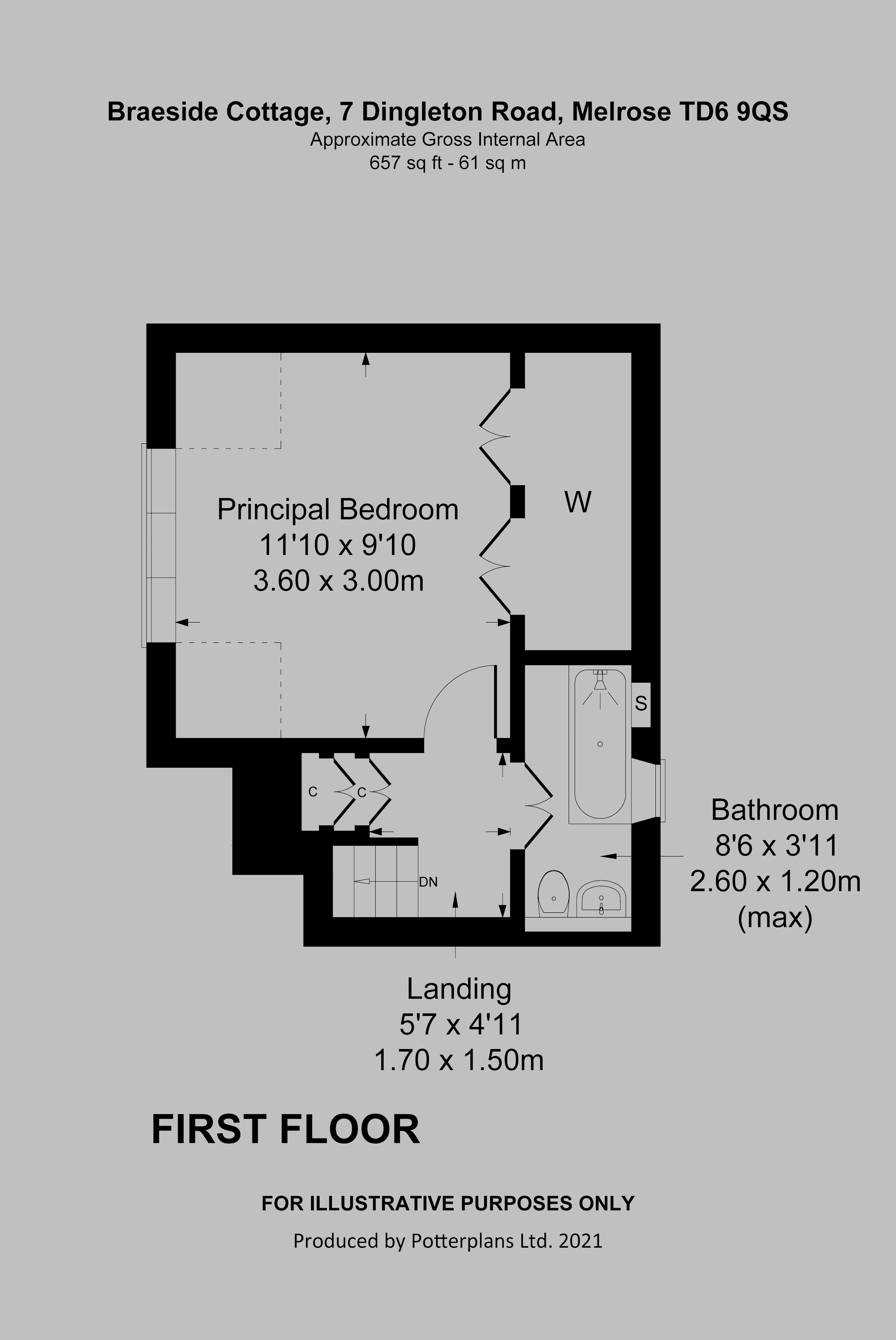 Braeside Cottage First Floor