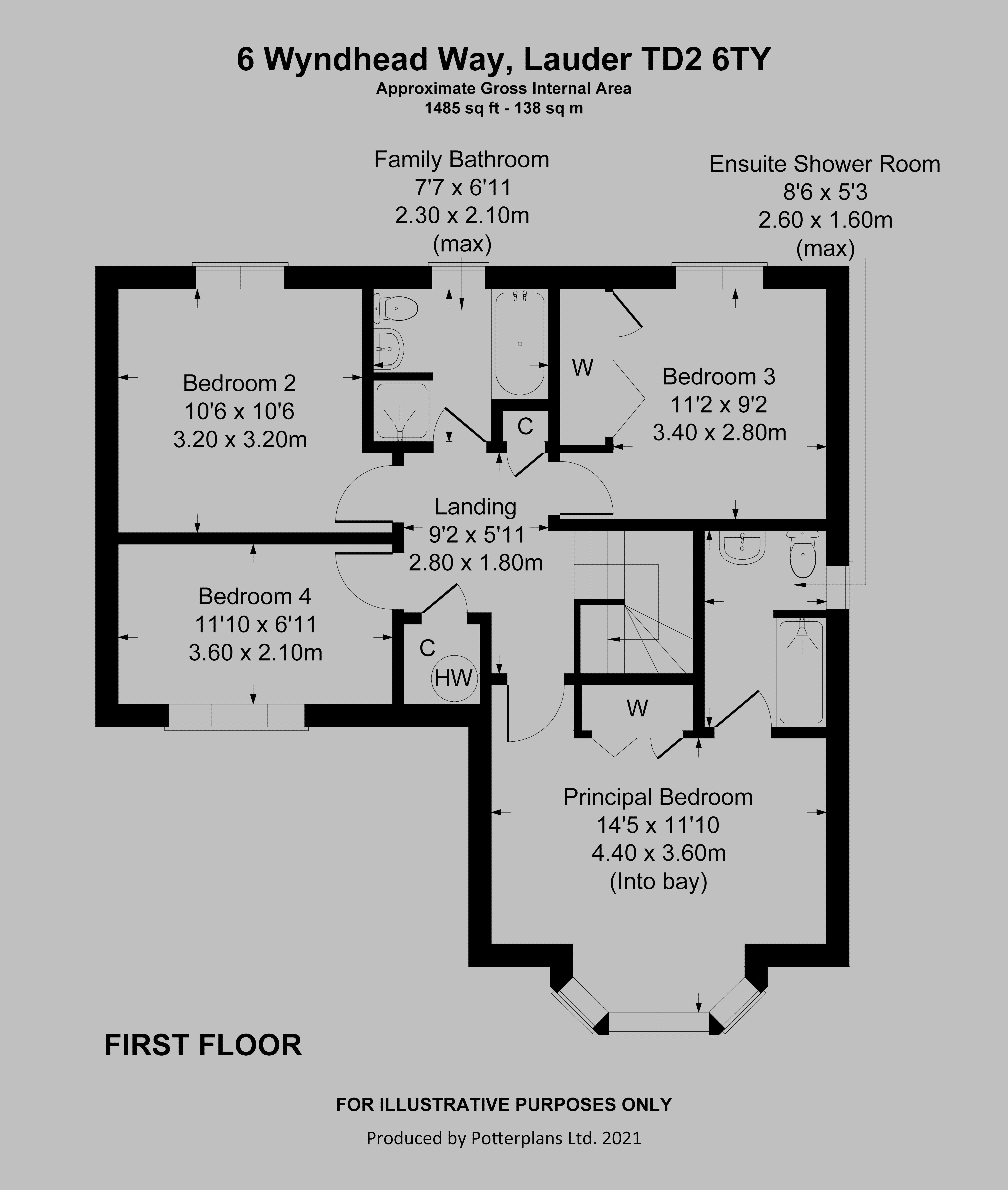 6 Wyndhead Way First Floor