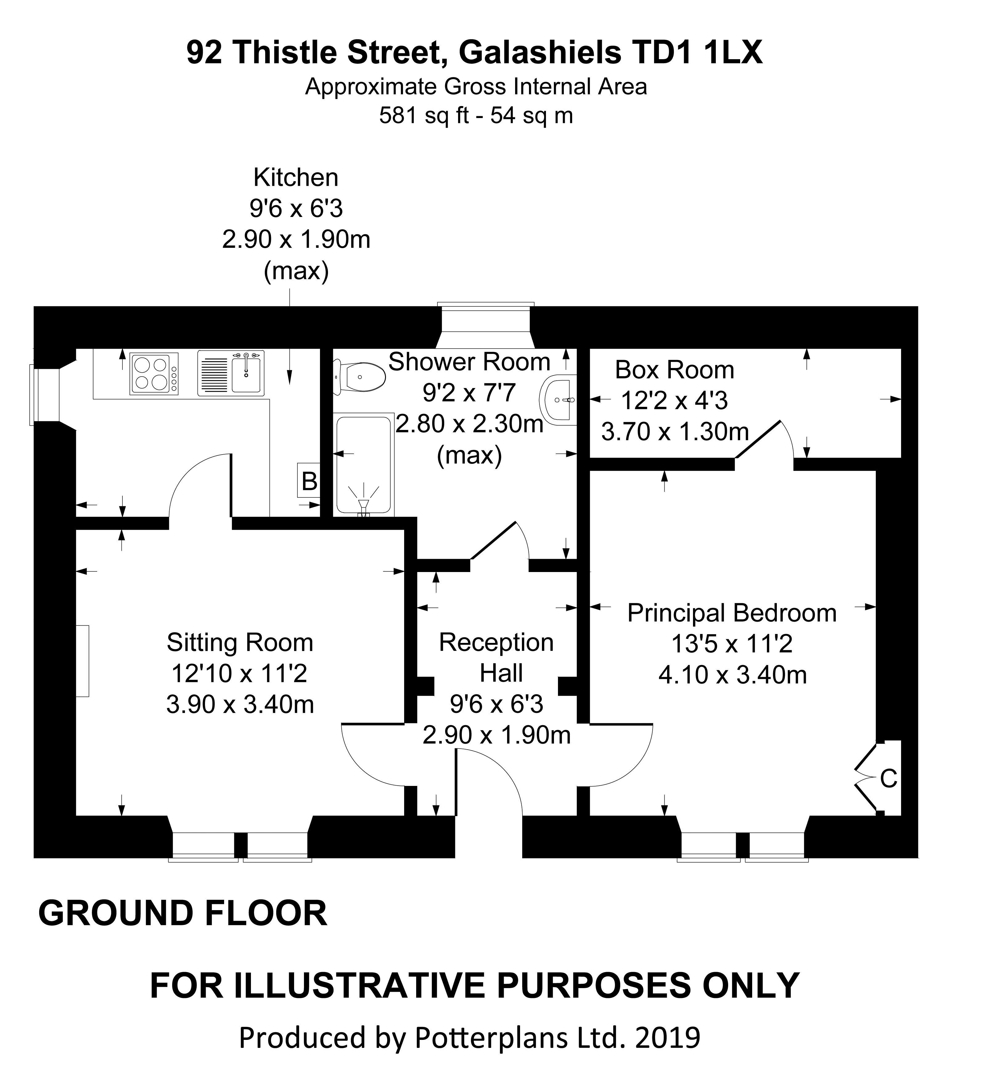 92 Thistle Street Ground Floor