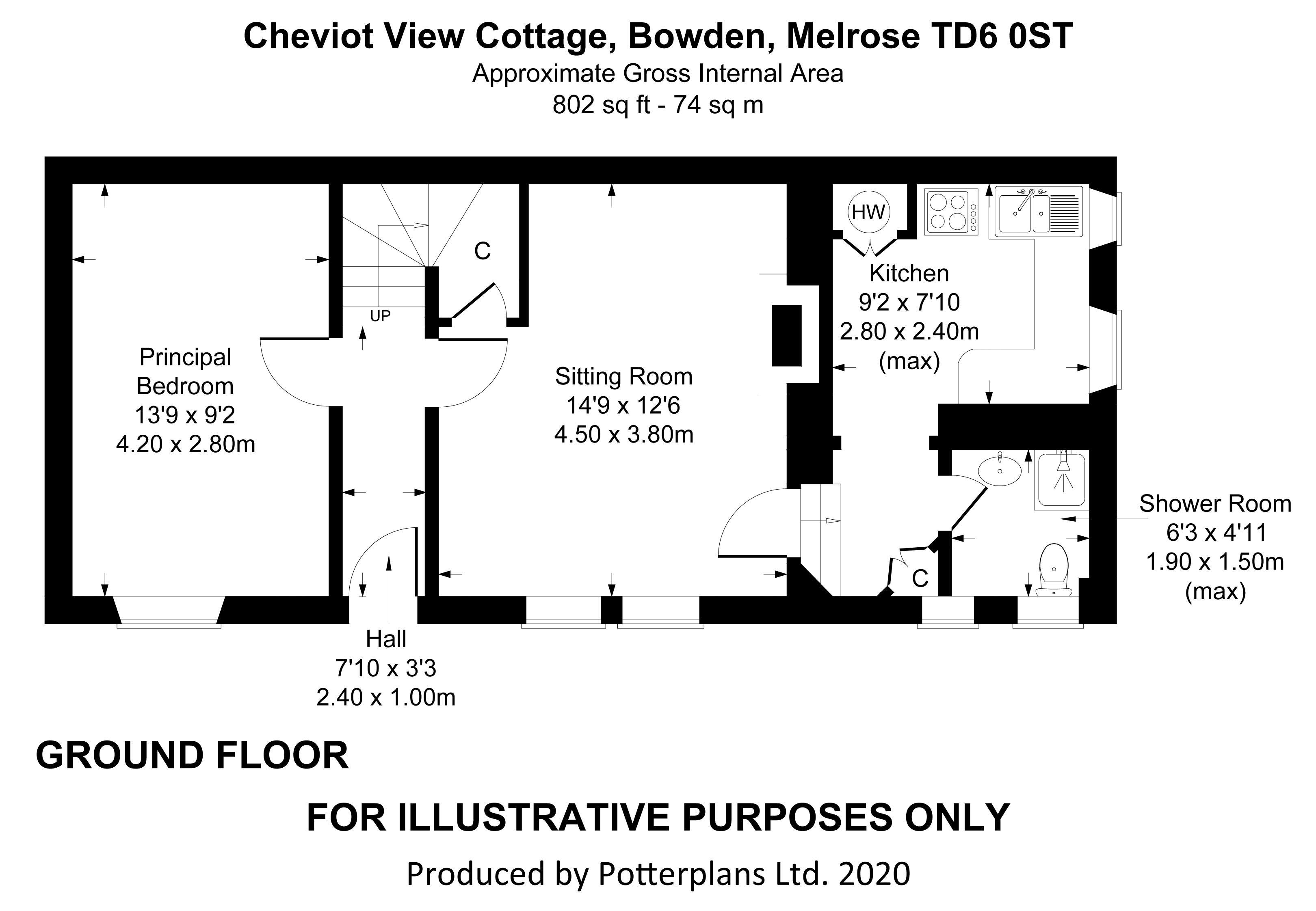 Cheviot View Cottage Ground Floor