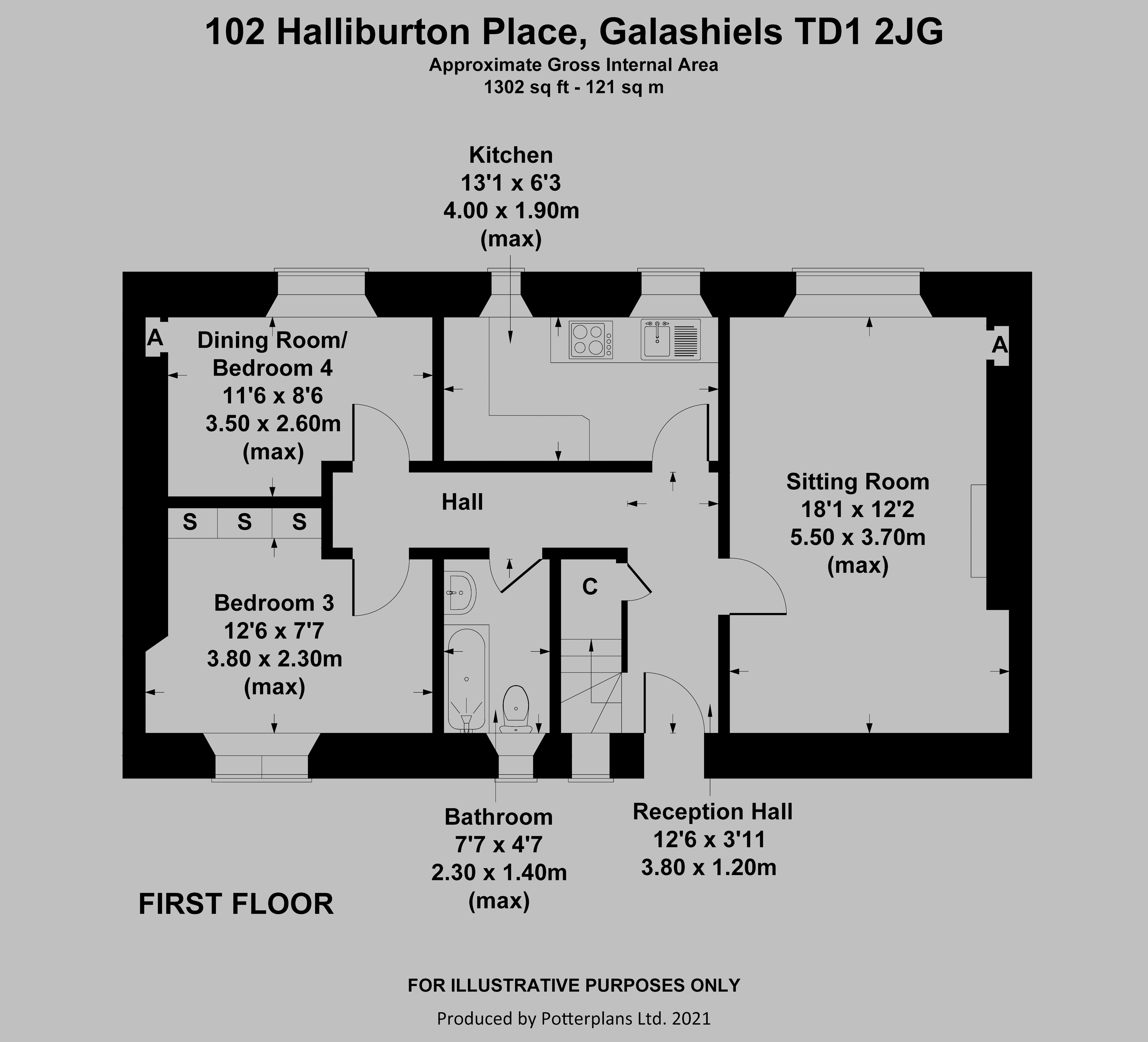 102 Halliburton Place First Floor