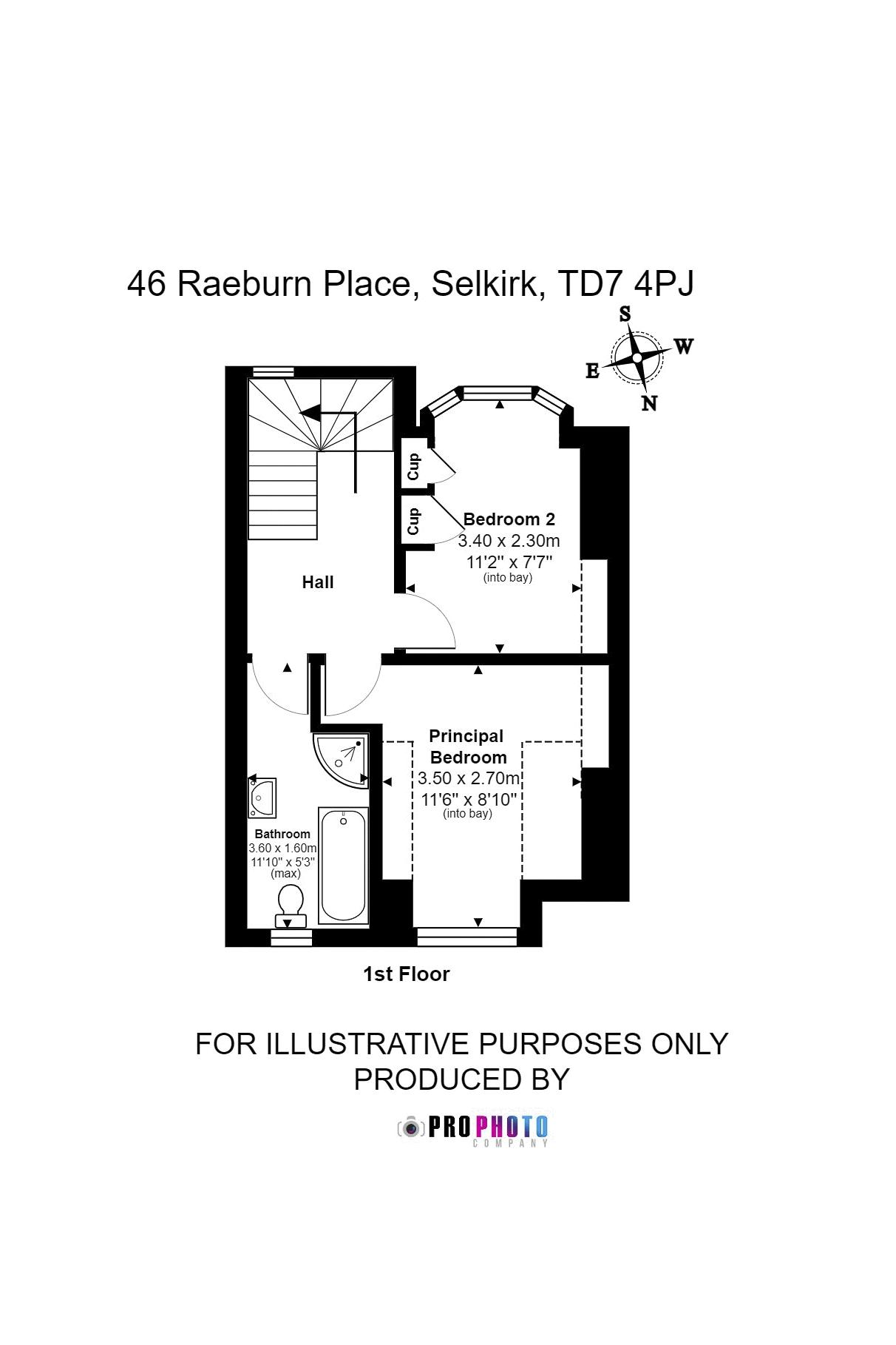 46 Raeburn Place First Floor