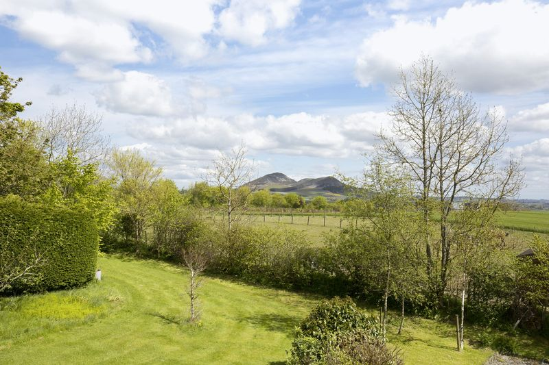 View of the Eildons
