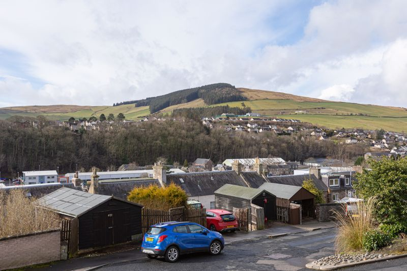 View from 94 Halliburton Place, Galashiels