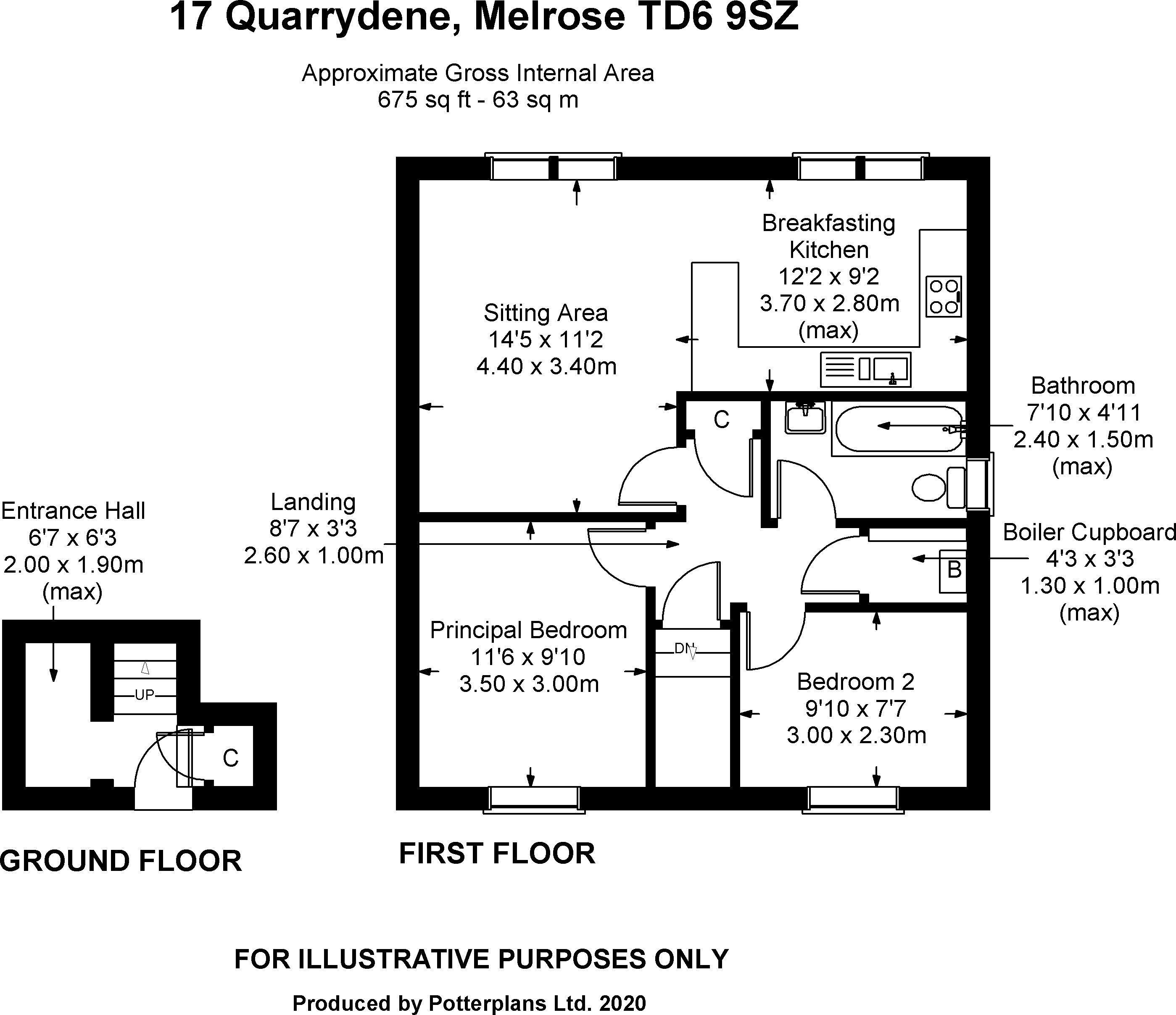 17 Quarrydene Floorplan