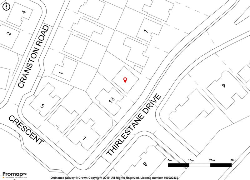 11 Thirlestane Drive Location Map