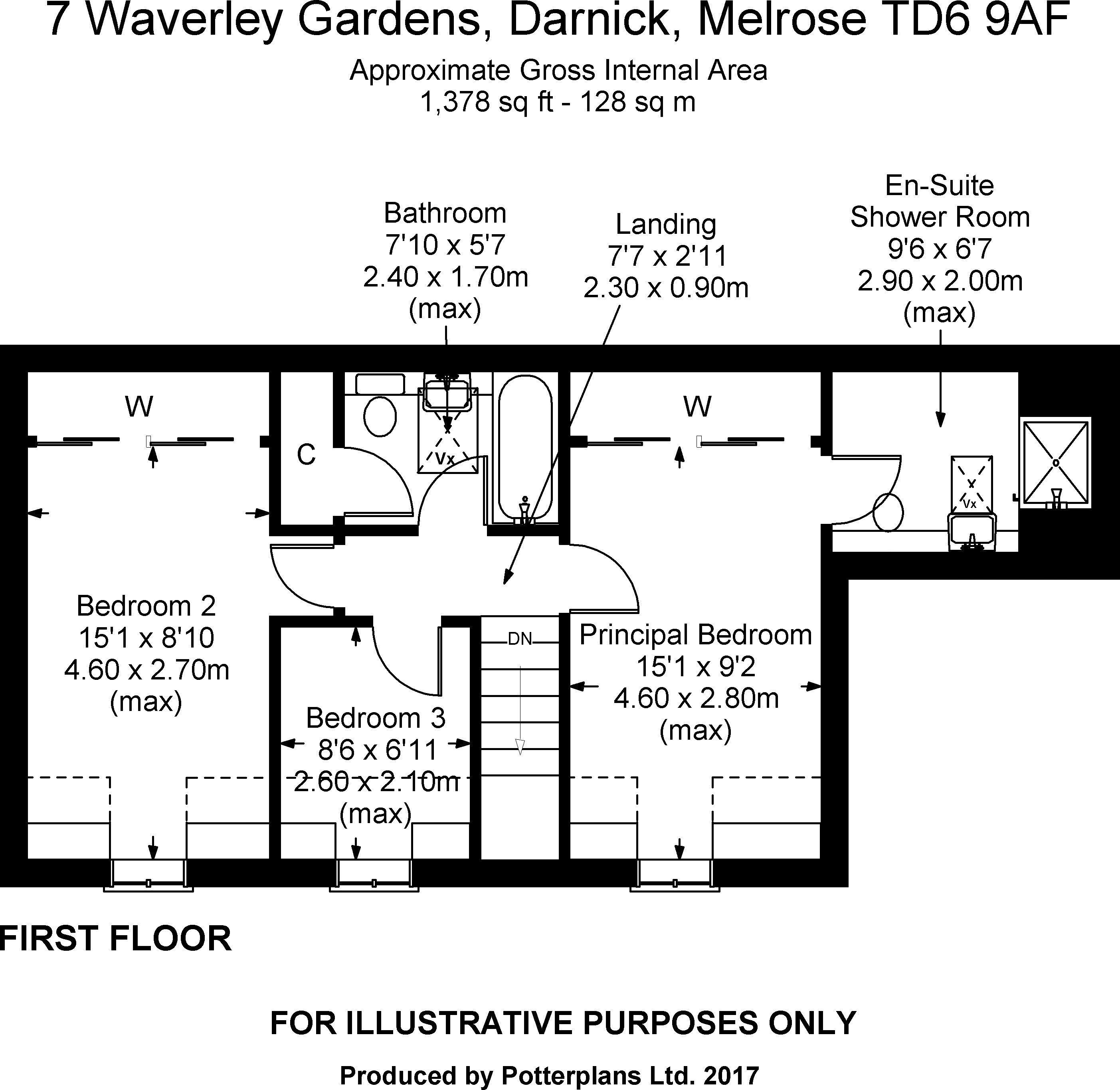 7 Waverley Gardens First Floor