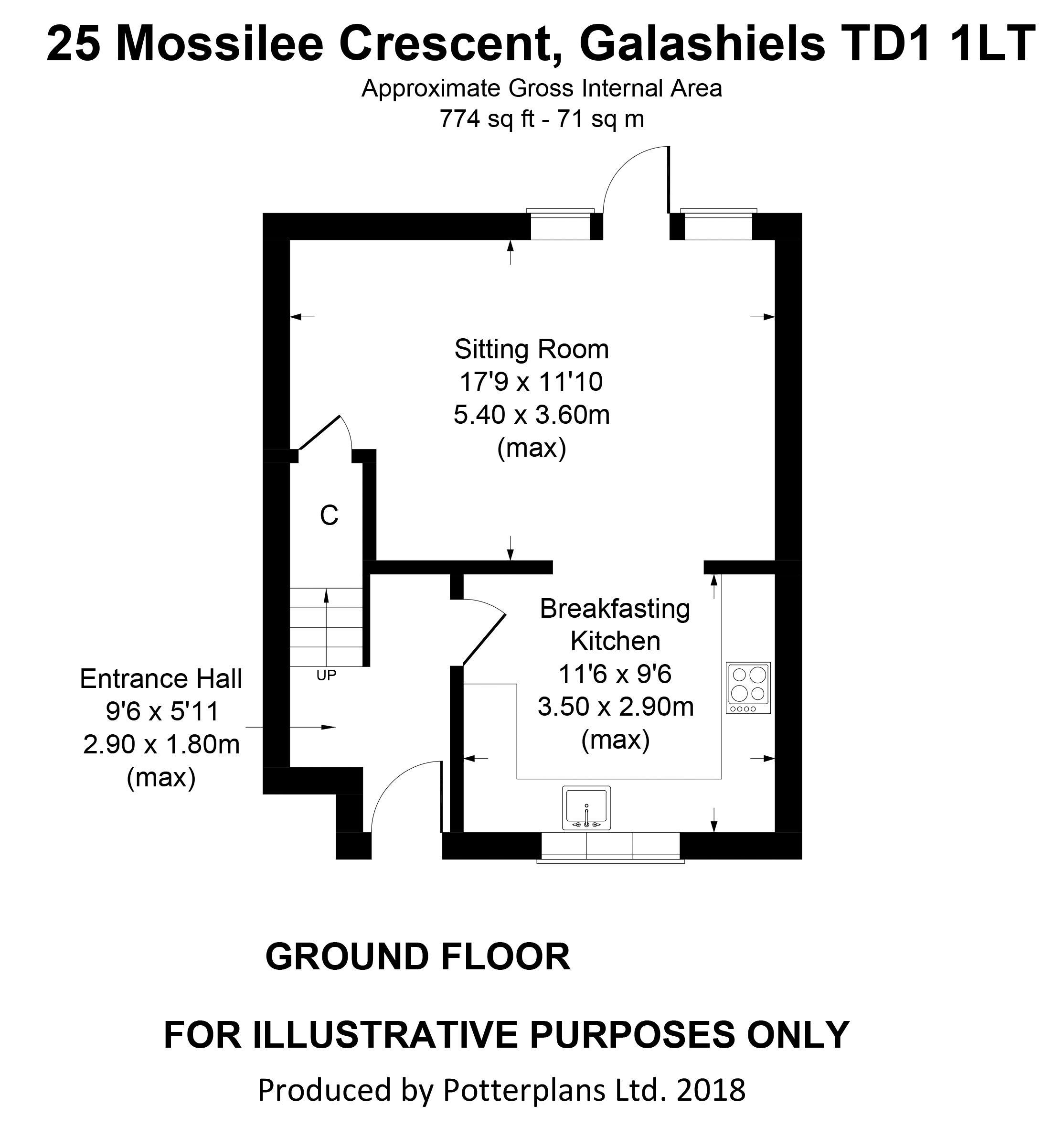 25 Mossilee Crescent Ground Floor