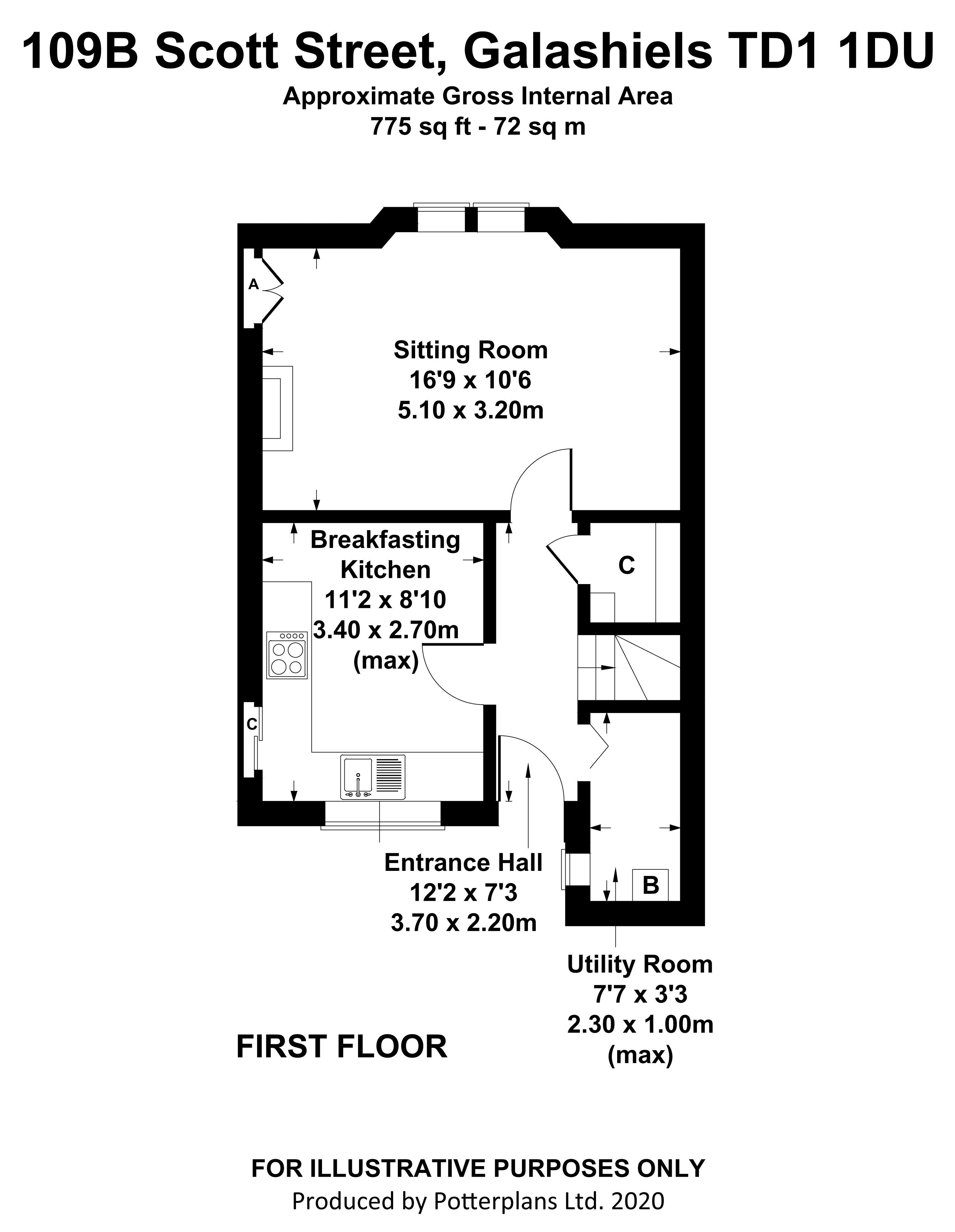 109B Scott Street First Floor