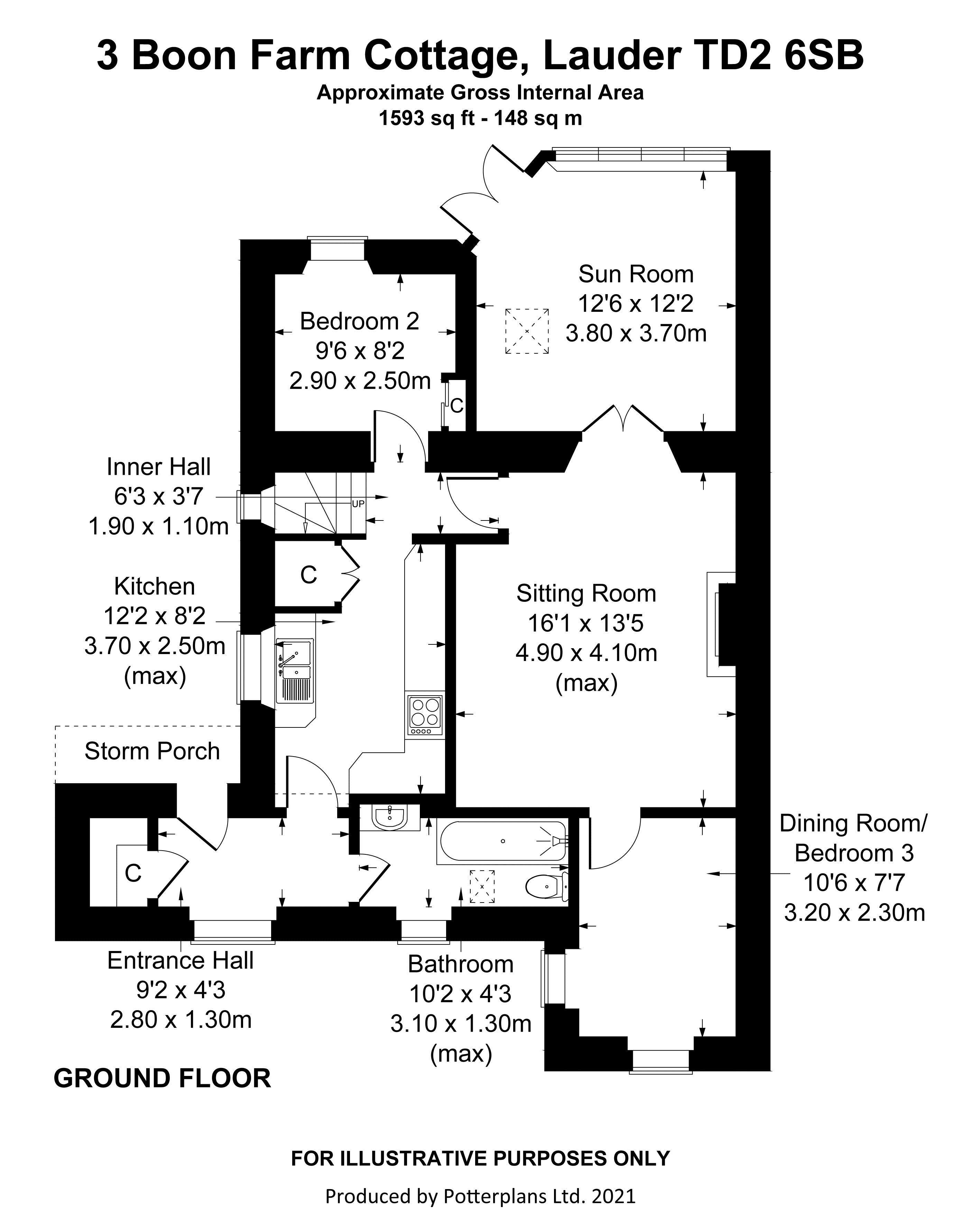 3 Boon Farm Cottage Ground Floor