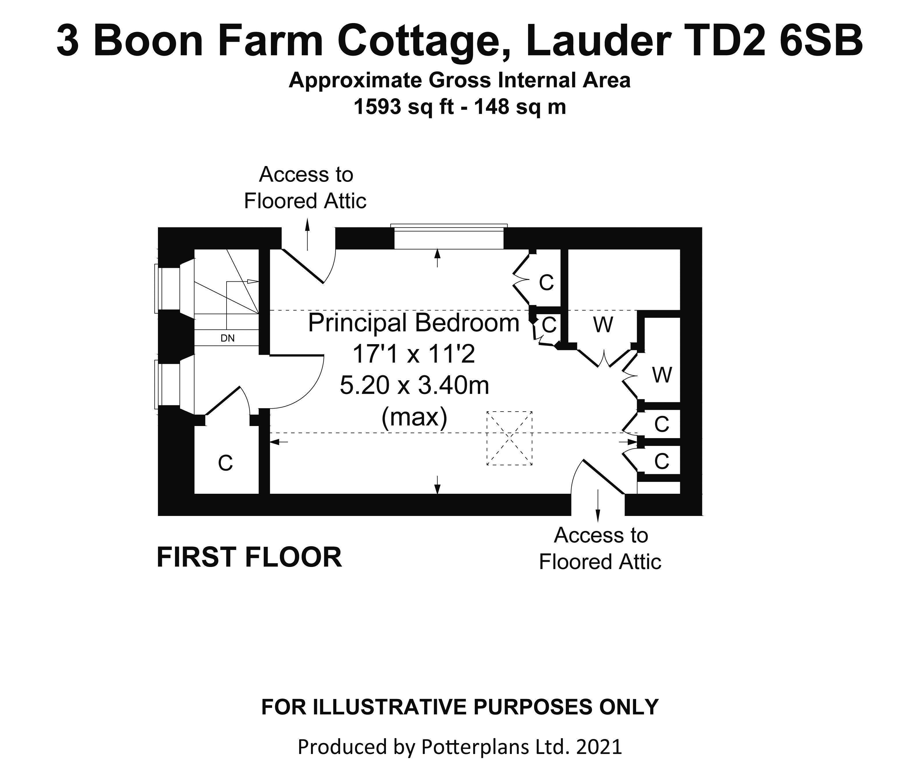 3 Boon Farm Cottage First Floor