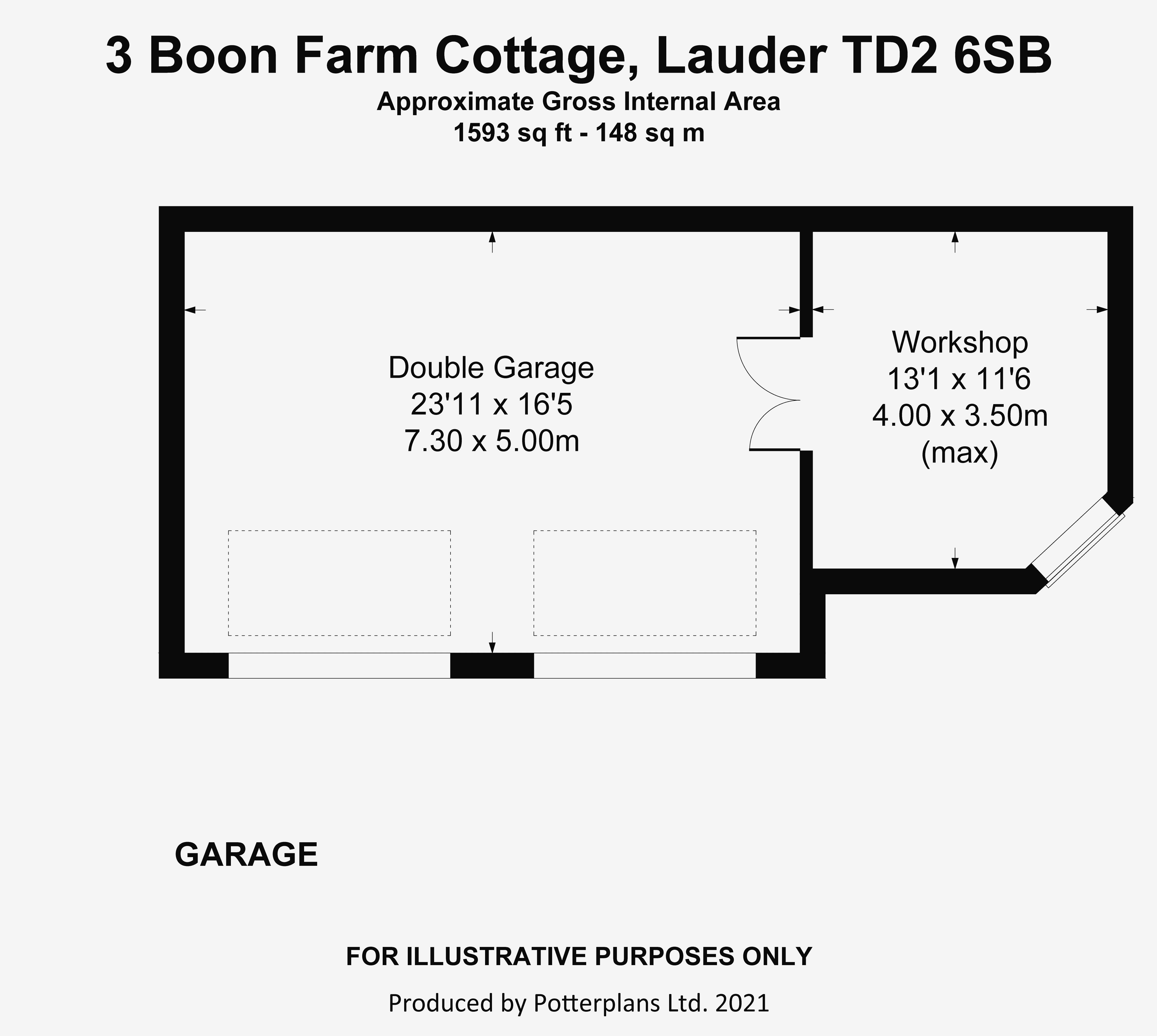 3 Boon Farm Cottage Garage
