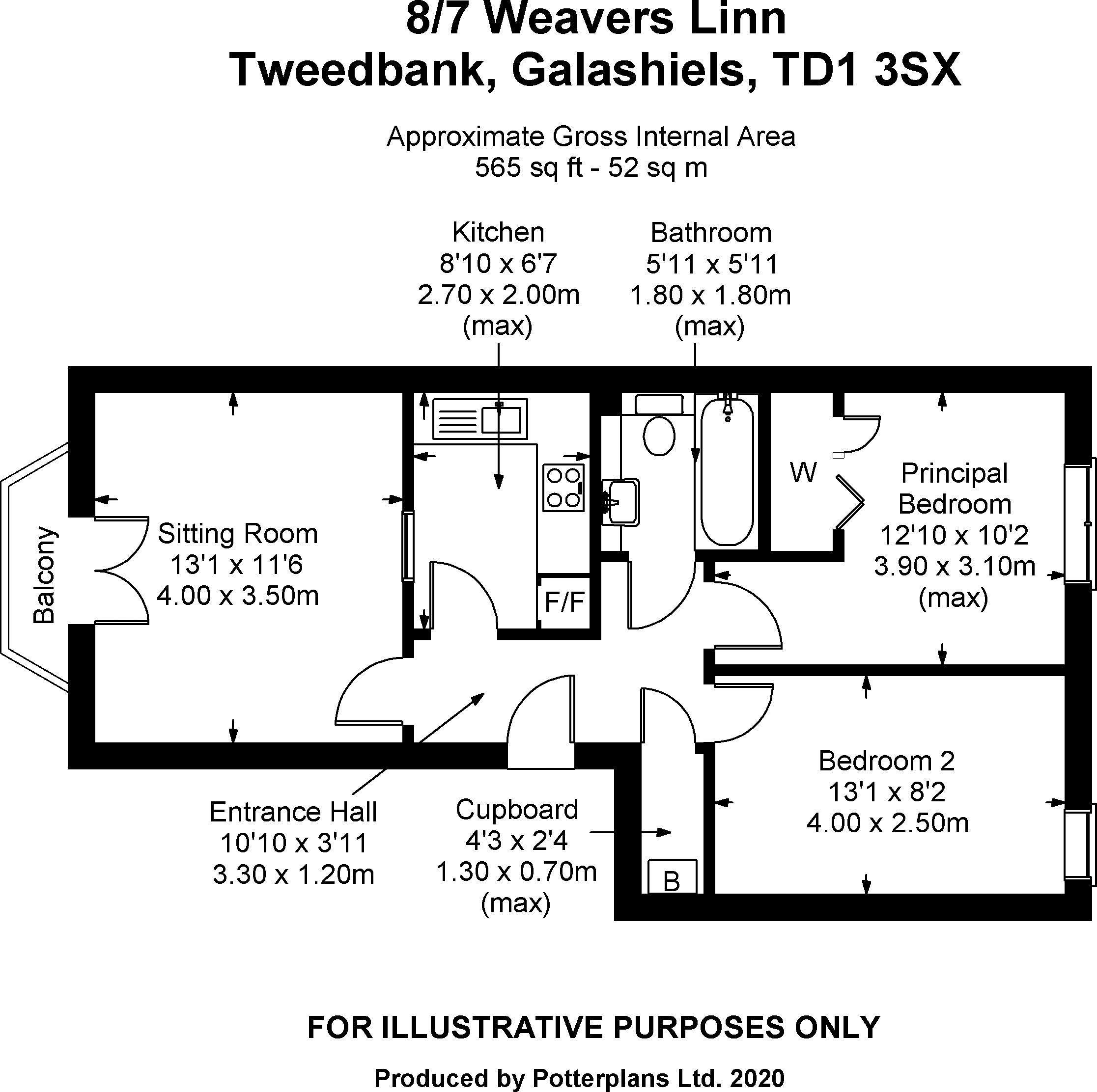 8/7 Weavers Linn Floorplan