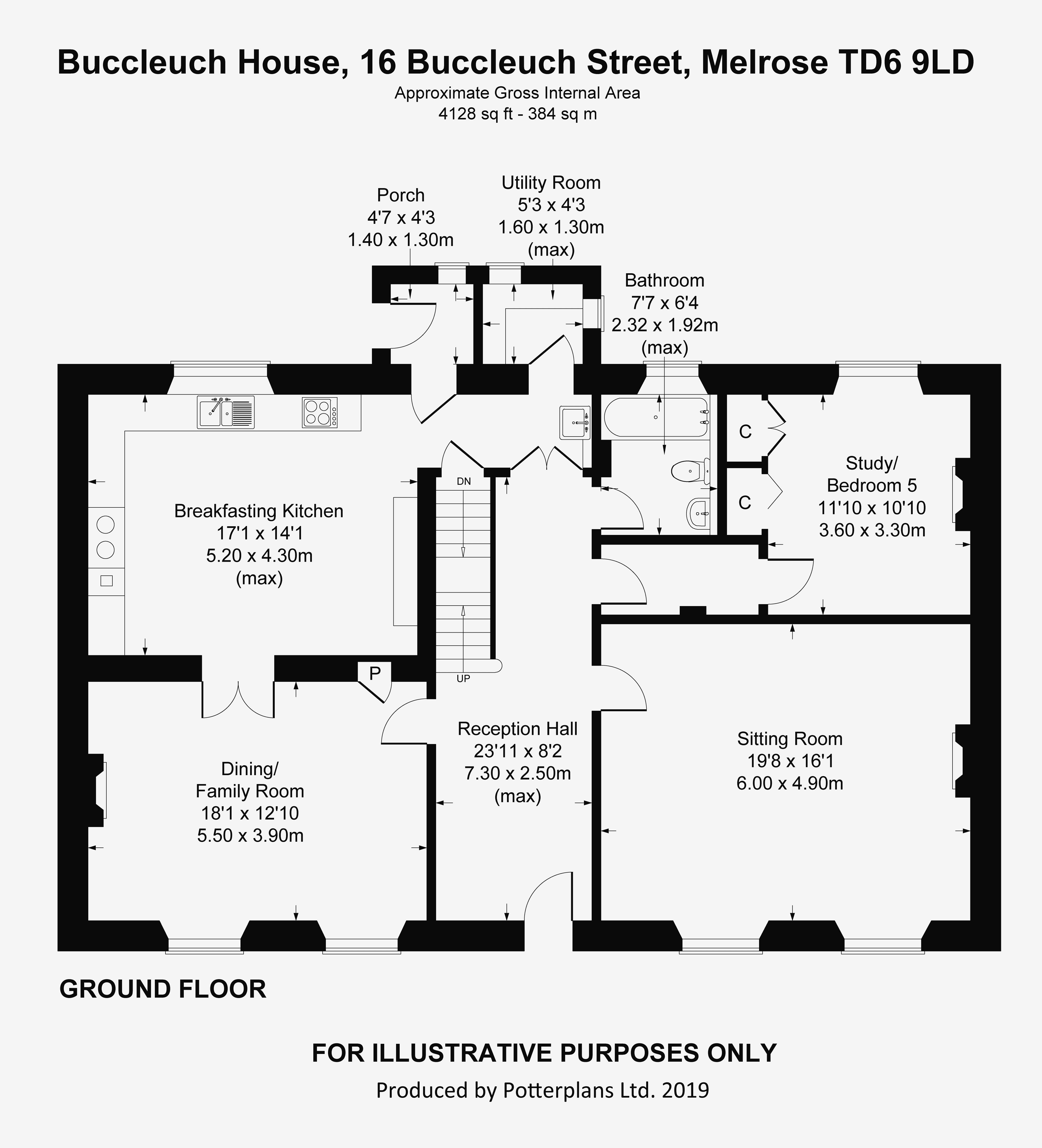 Buccleuch House Ground Floor