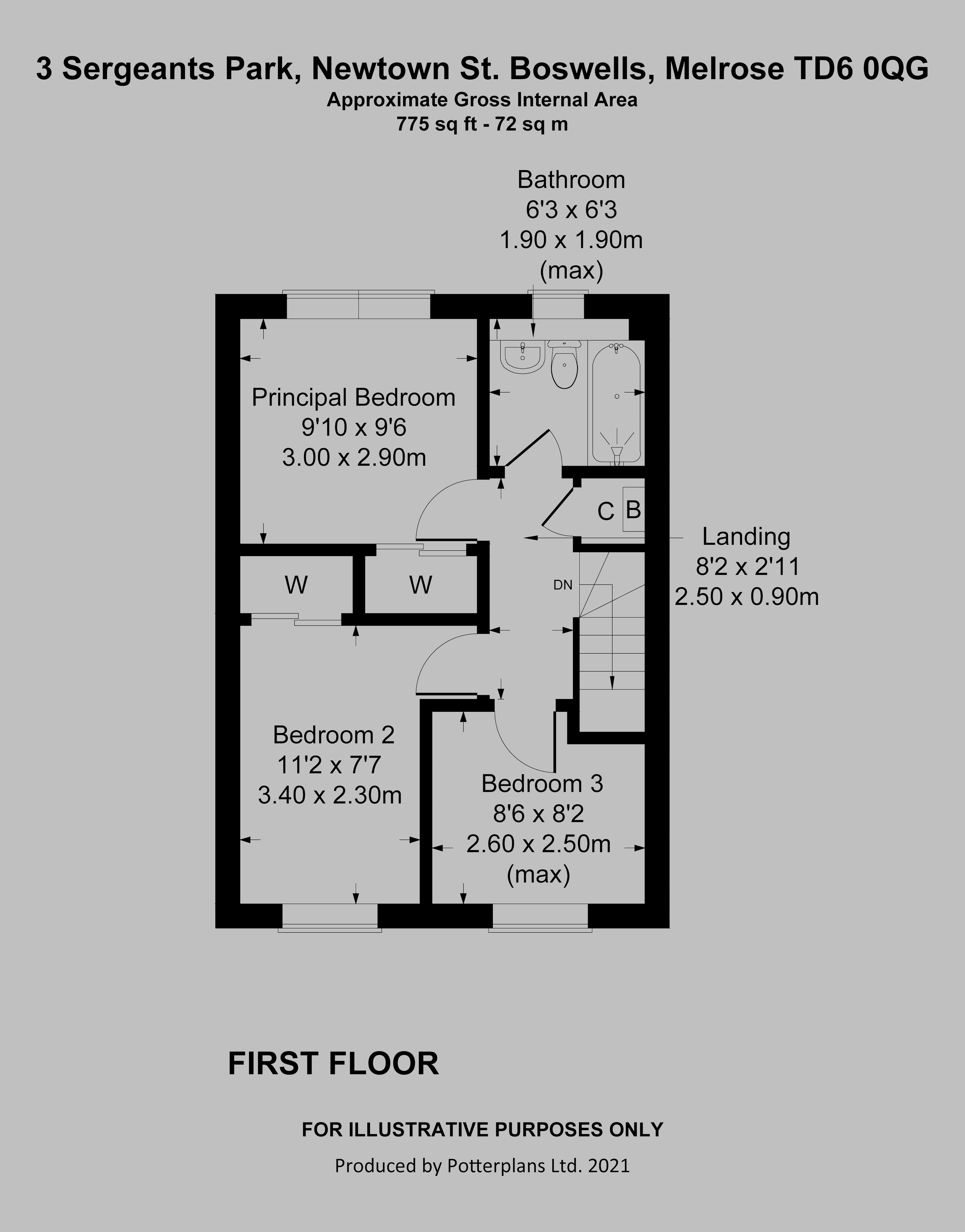 3 Sergeants Park First Floor