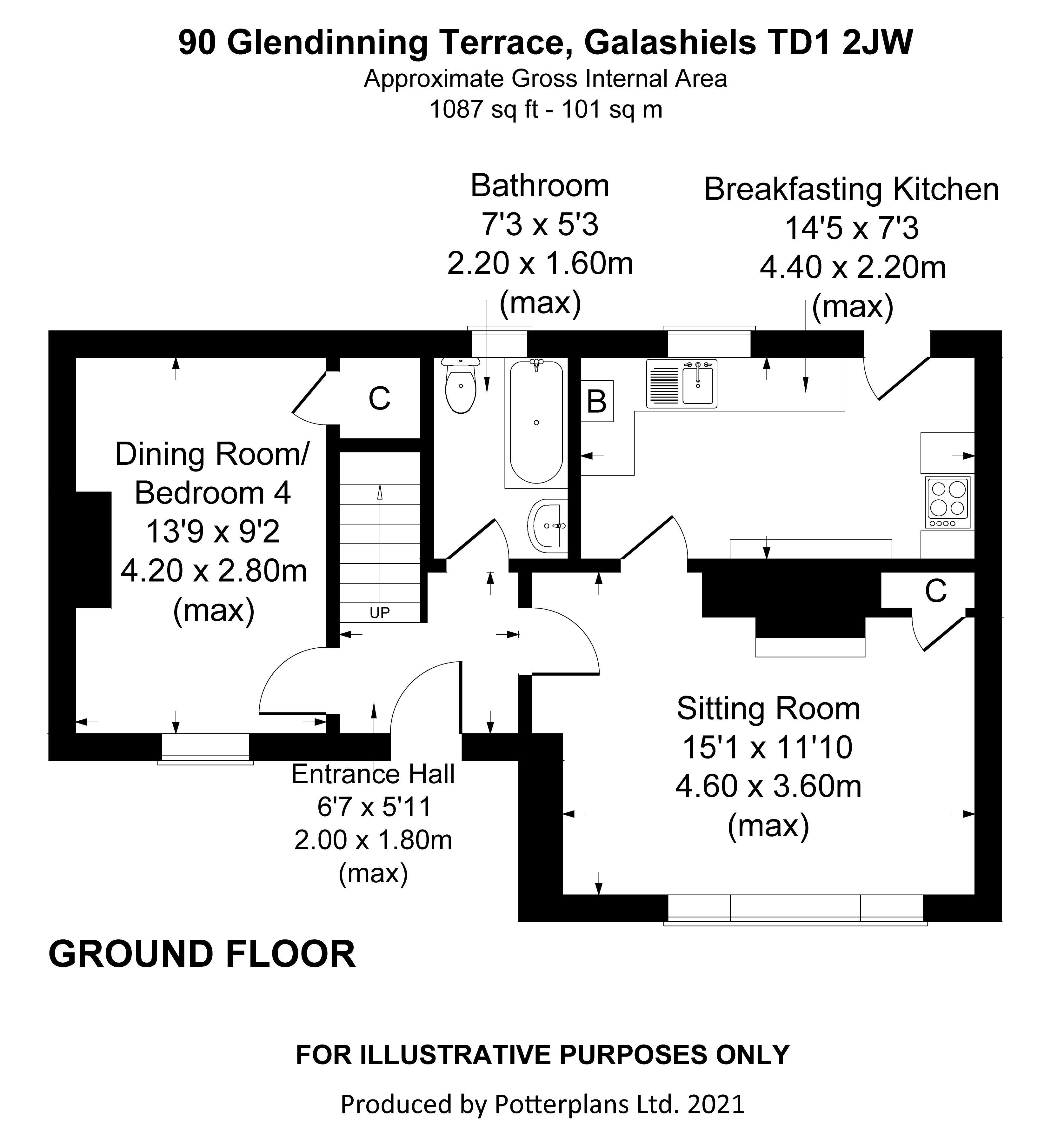 90 Glendinning Terrace Ground Floor