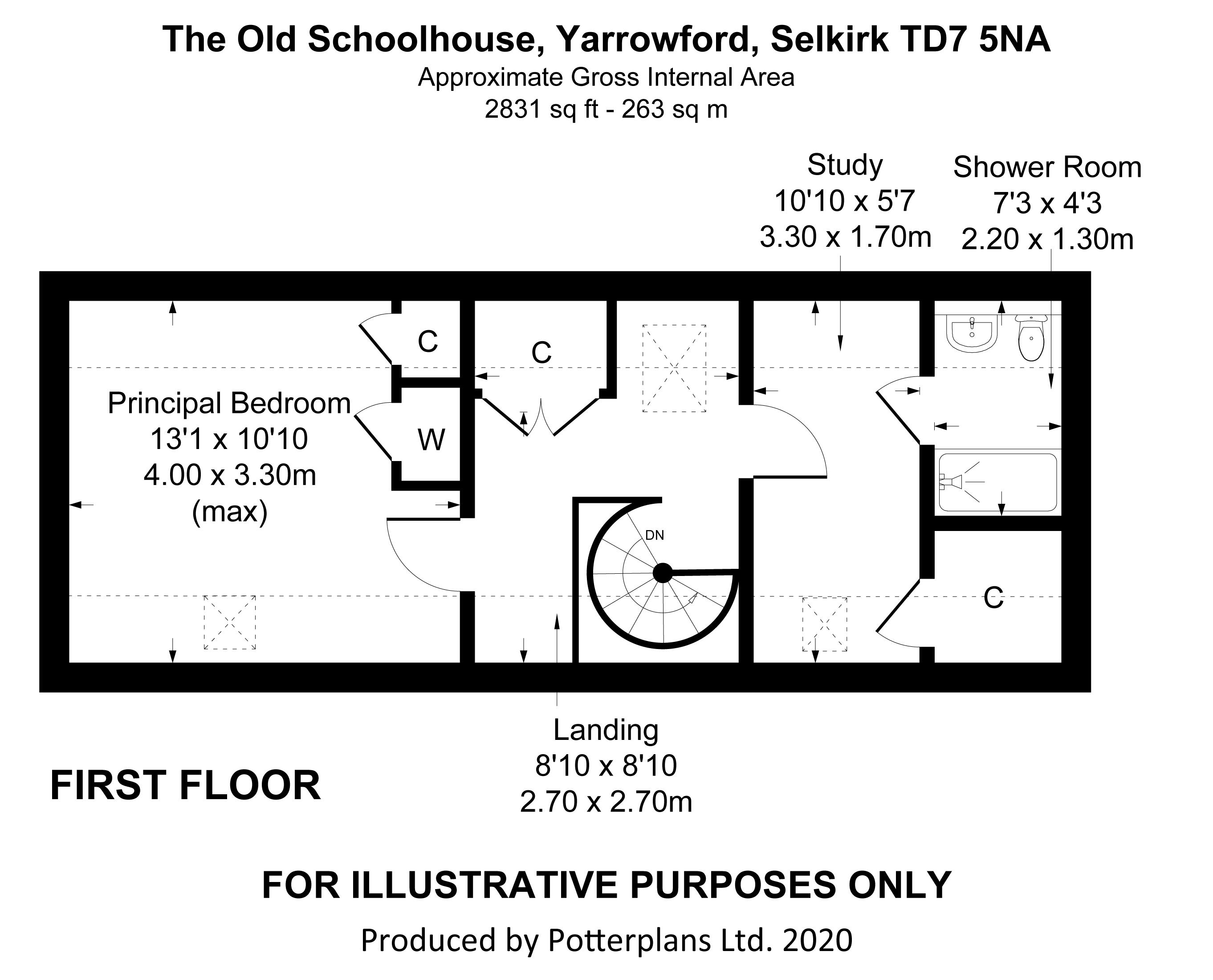 The  Old Schoolhouse First Floor